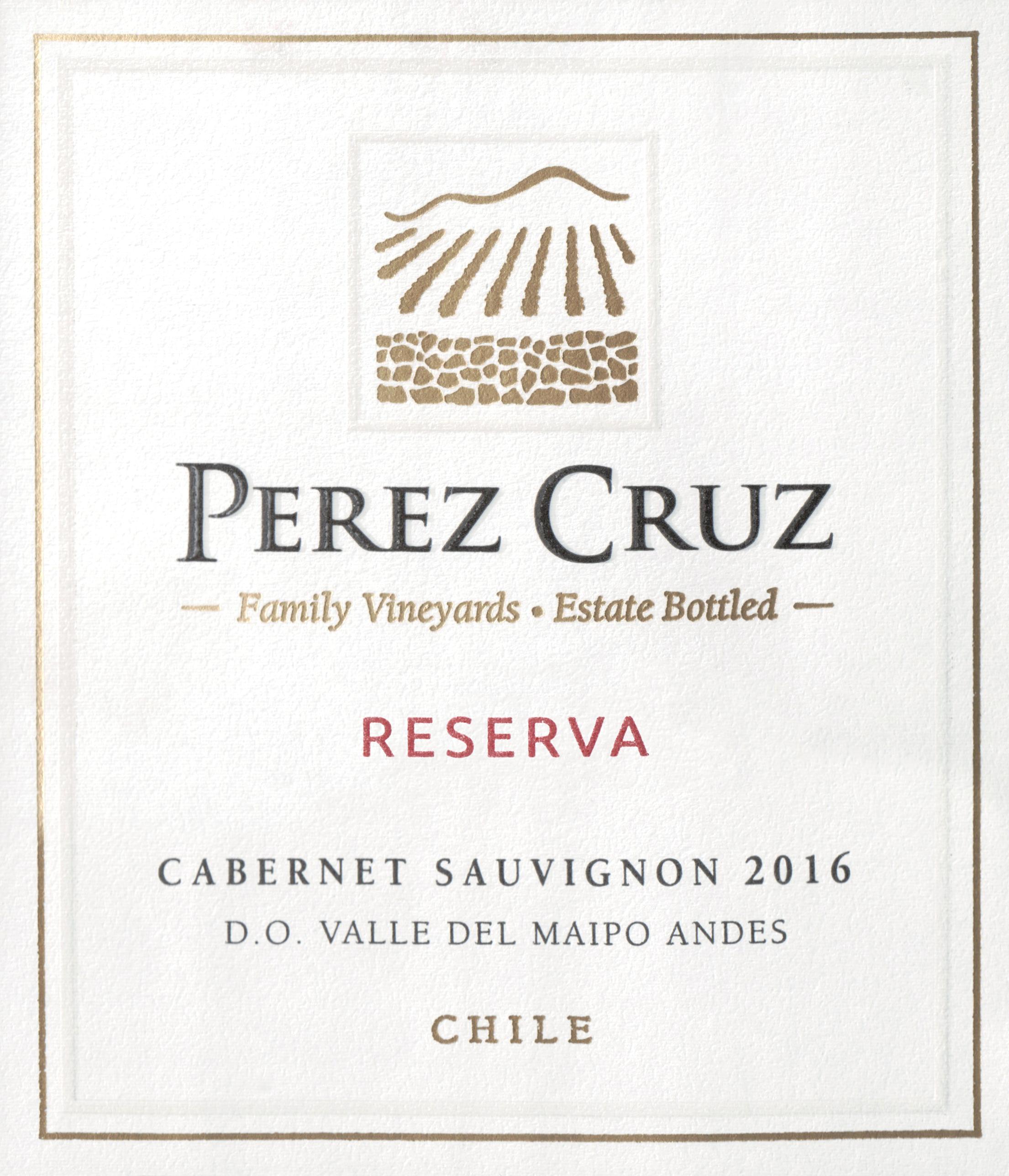 Perez Cruz Reserva Cabernet Sauvignon 2016