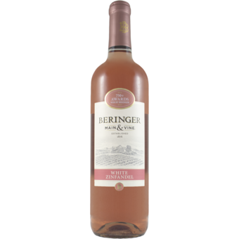 Bottle shot for  Beringer White Zinfandel