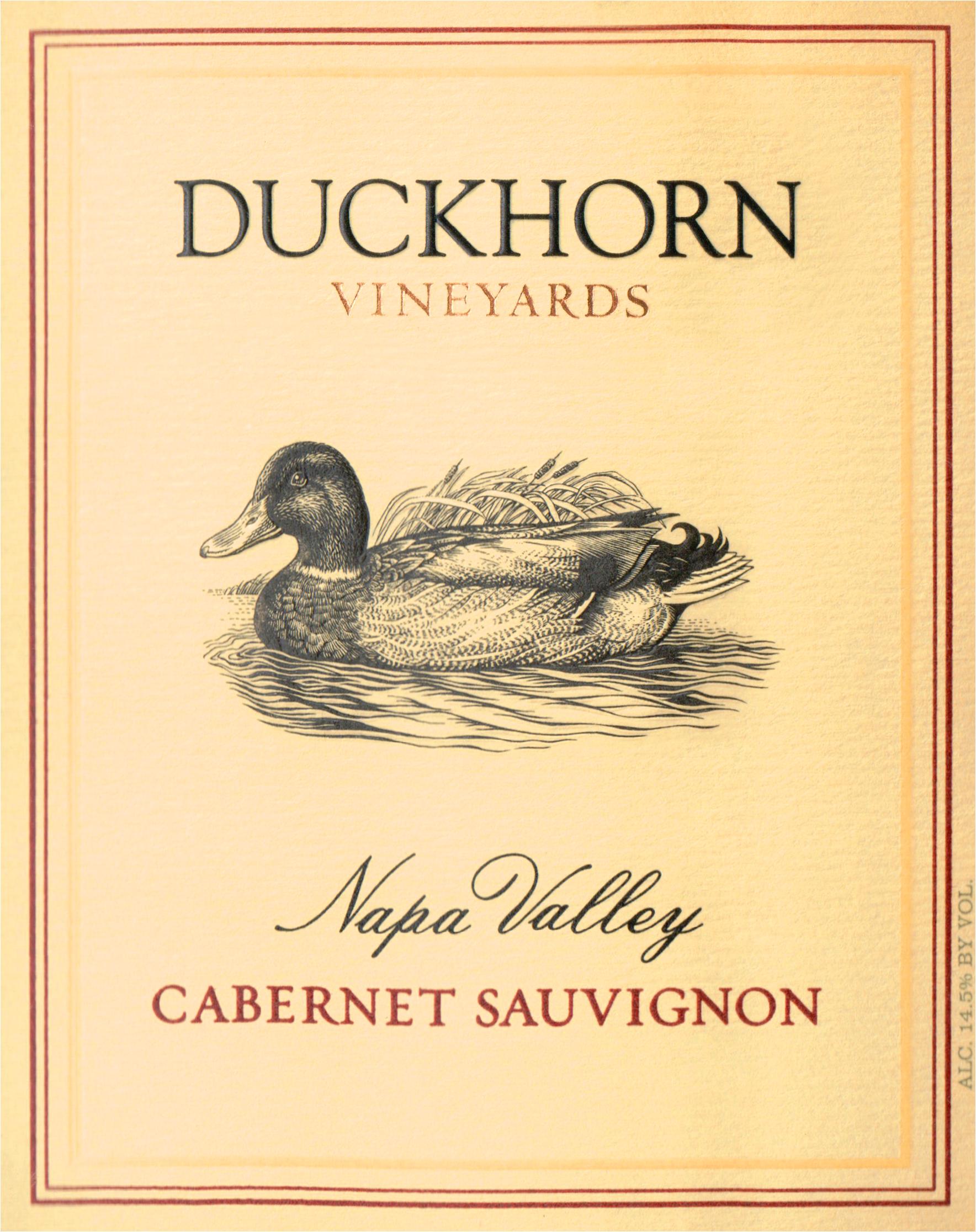 Duckhorn Napa Cabernet Sauvignon Half Bottle 2016