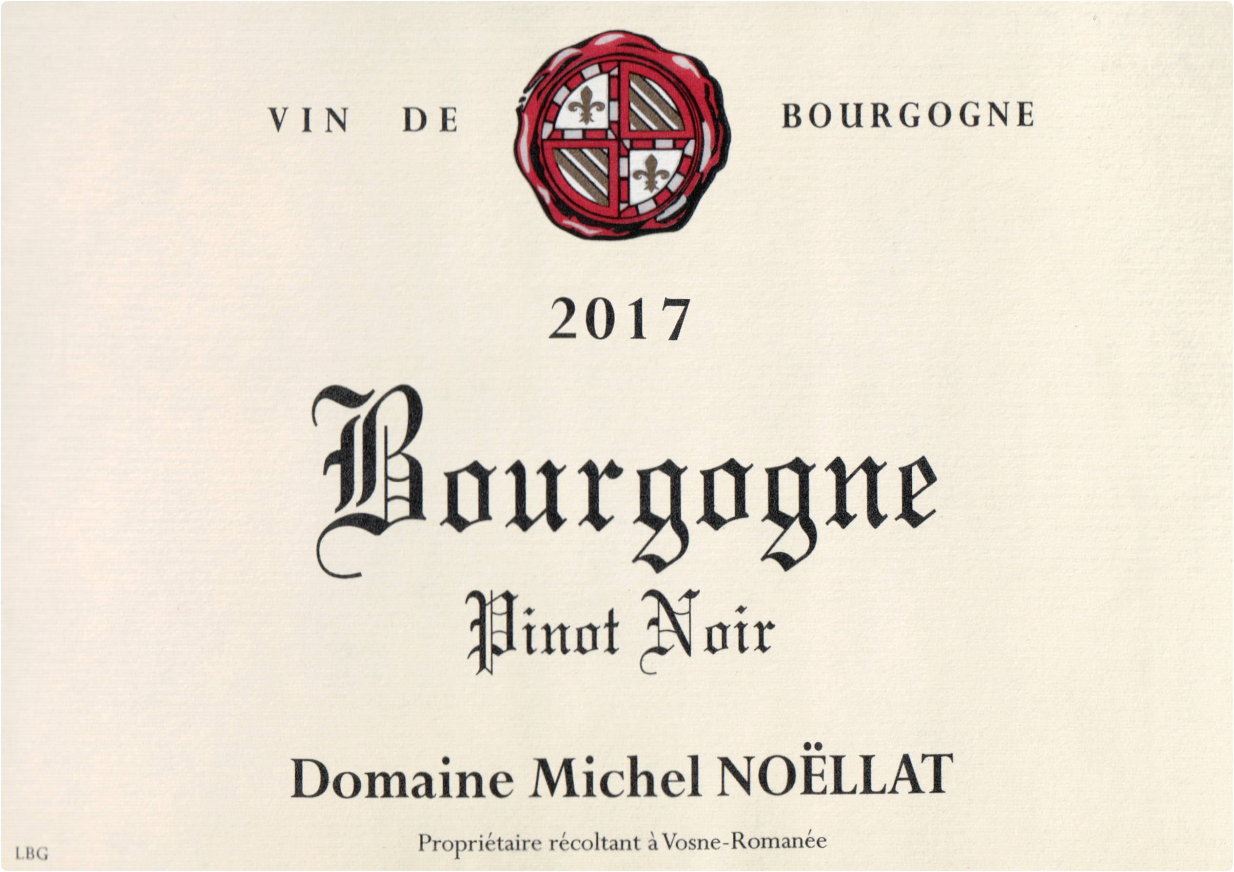 Domaine Michel Noellat Bourgogne Rouge Pinot Noir 2017