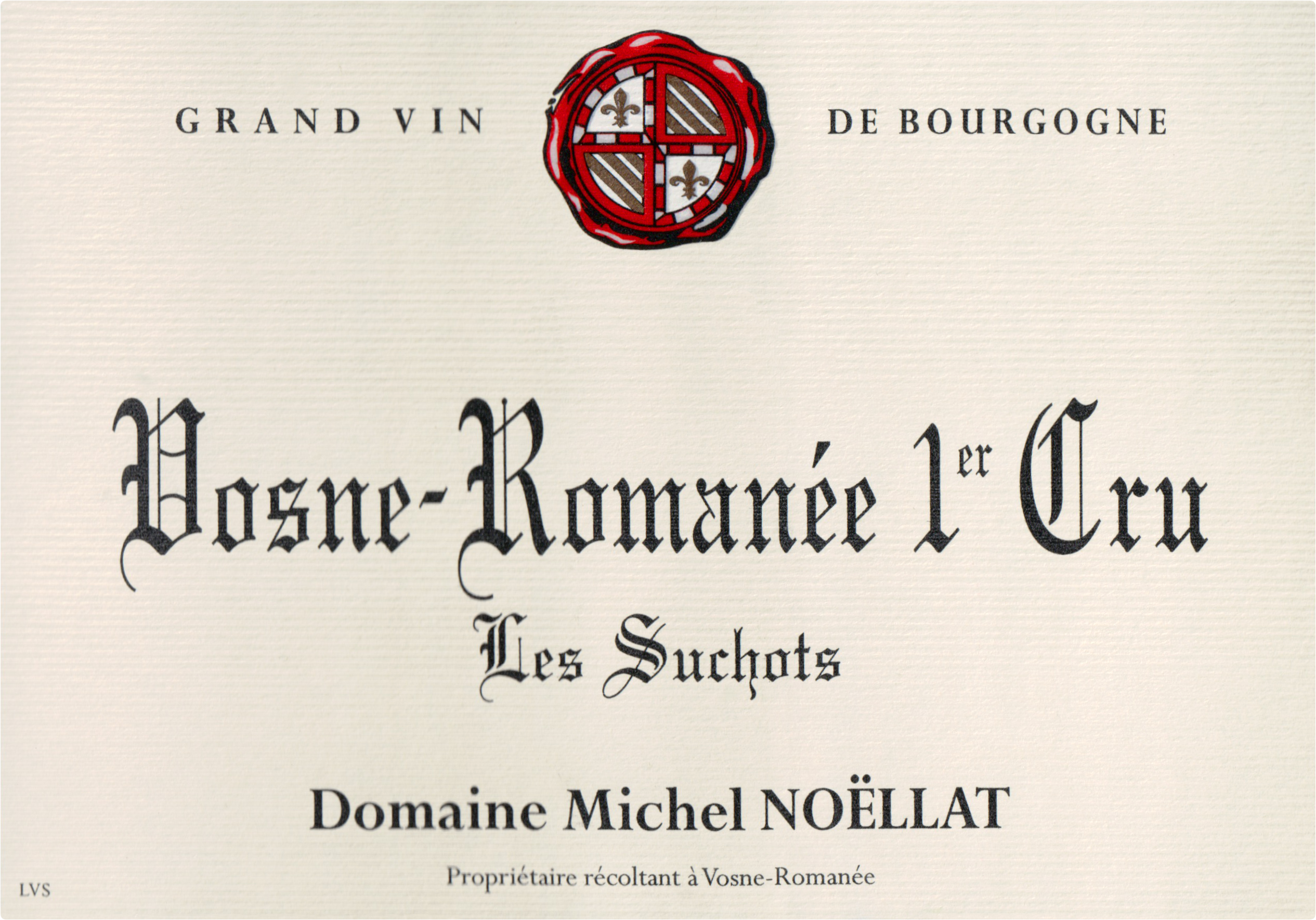 Michel Noellat Vosne Romanee Les Suchots 1er Cru 2016