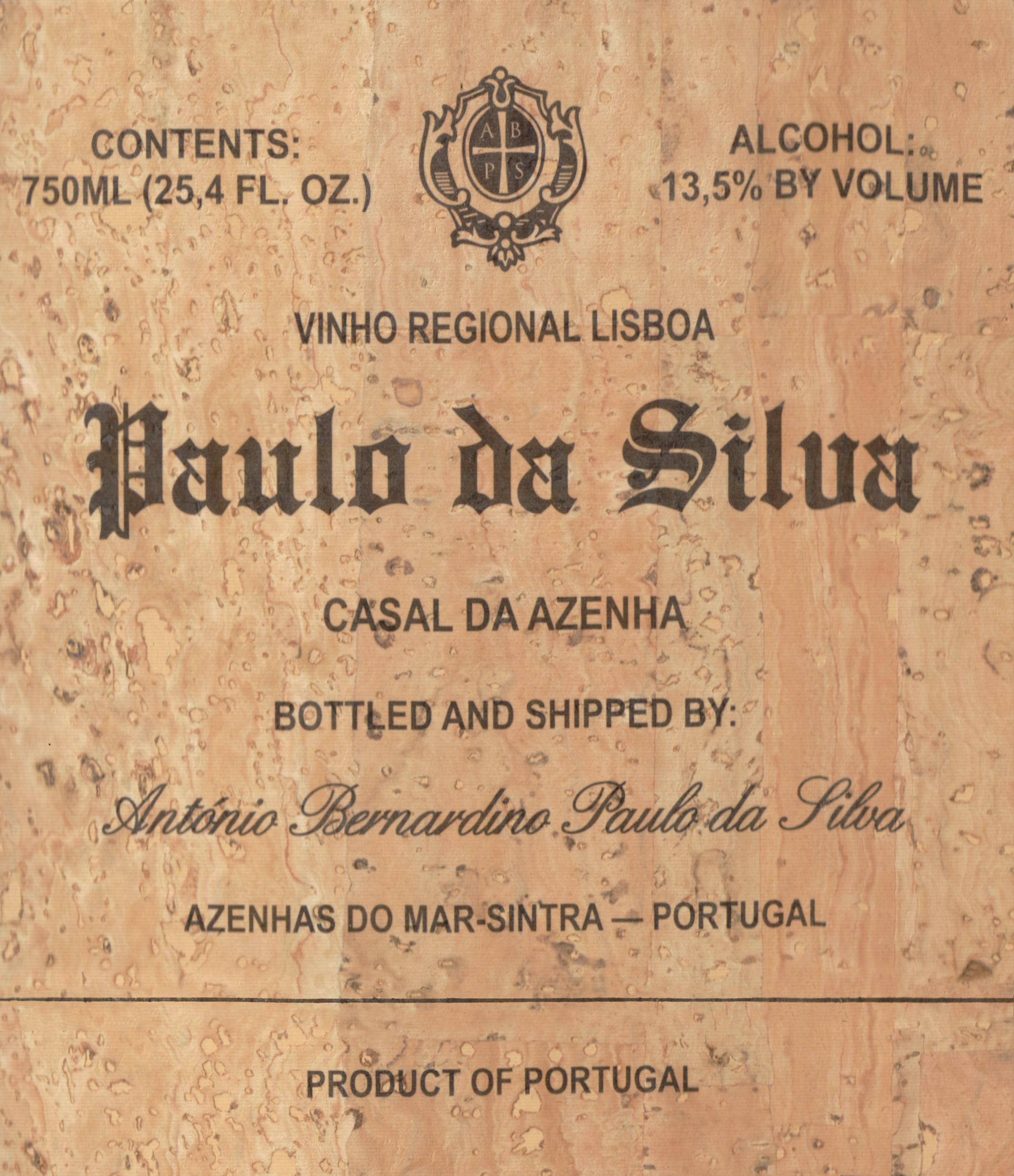 Paulo Da Silva Branco Casal Da Azenha 2017