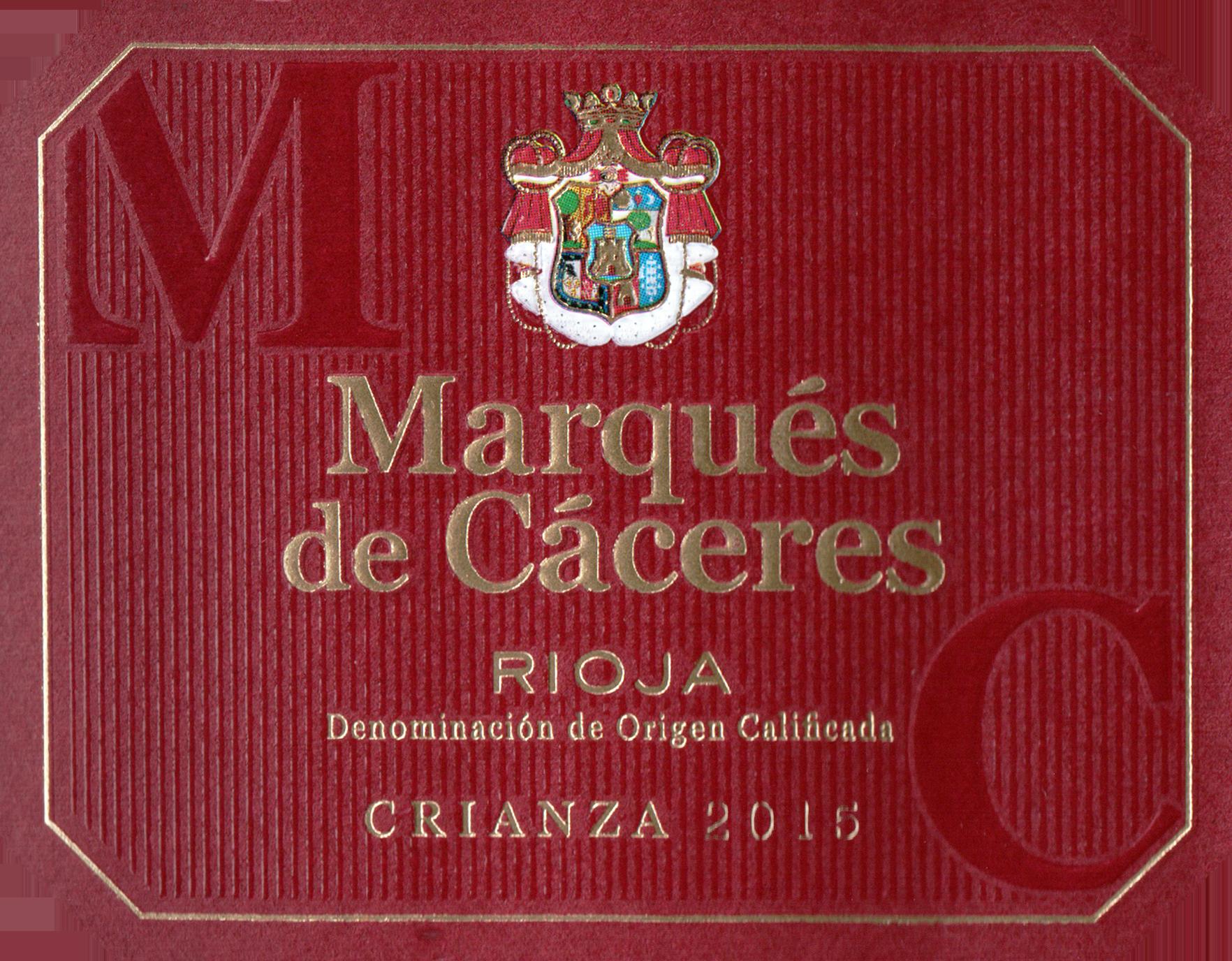 Marques De Caceres Red 2015