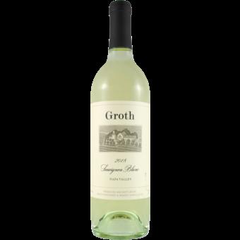 Bottle shot for 2018 Groth Vineyards Sauvignon Blanc