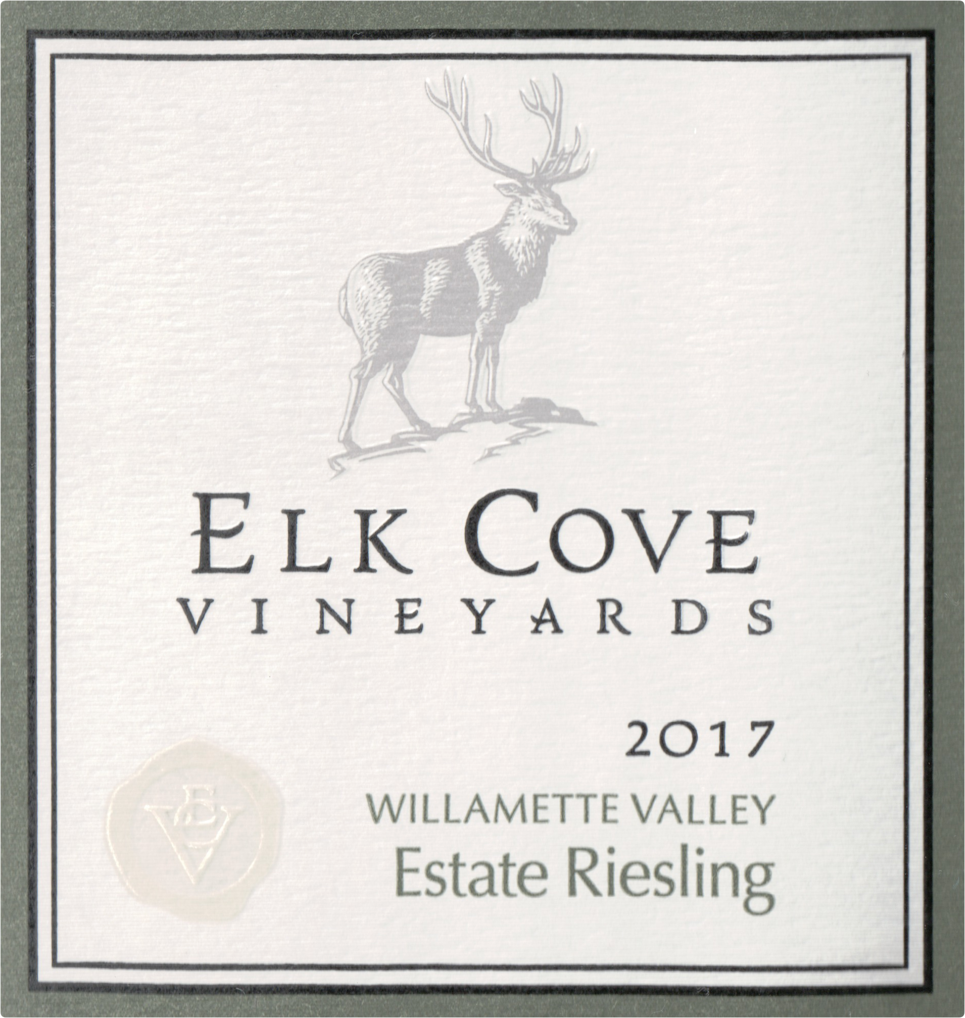 Elk Cove Vineyards Riesling Willamette Valley 2017