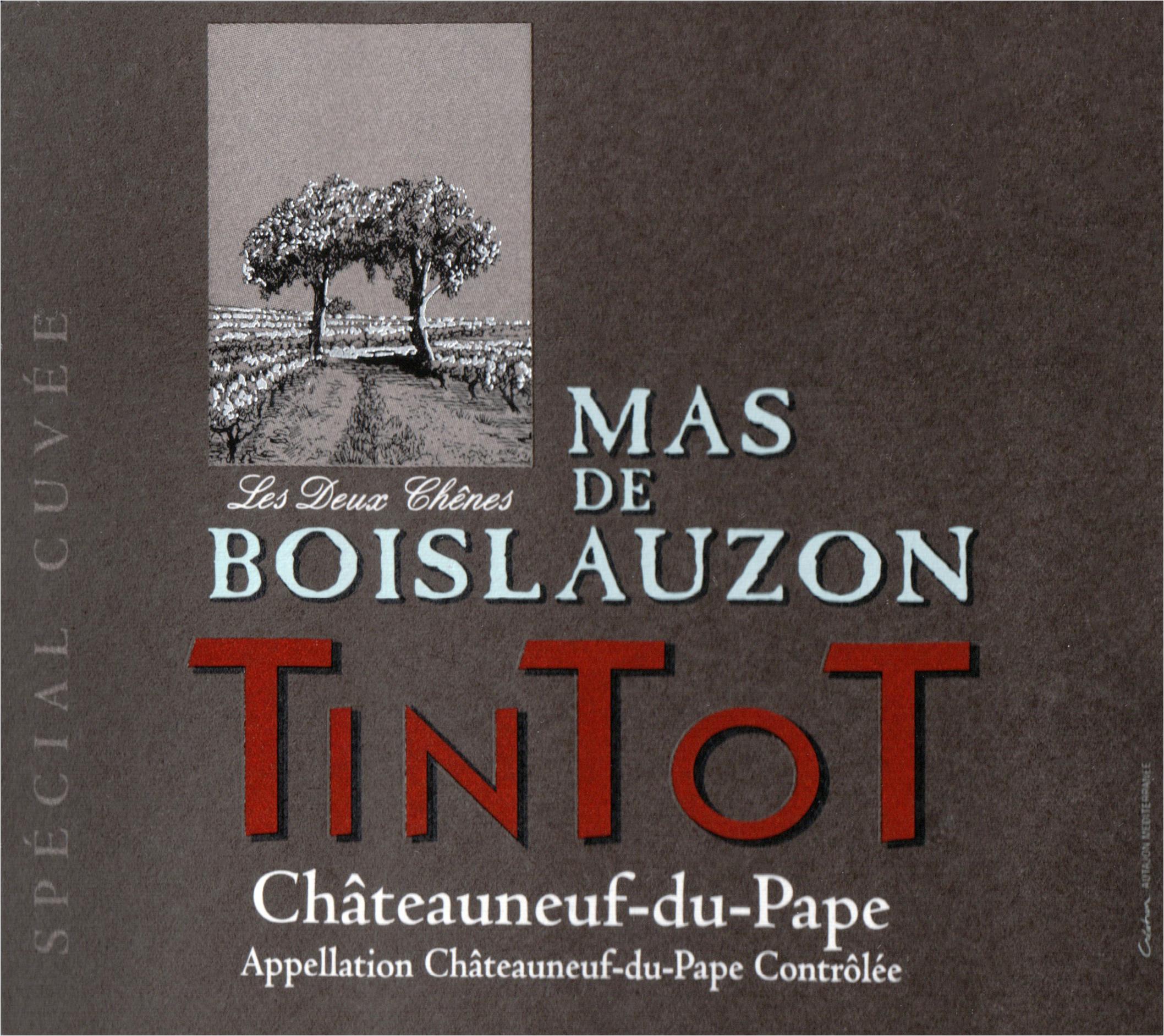 Mas De Boislauzon Tintot Chateauneuf Du Pape 2016