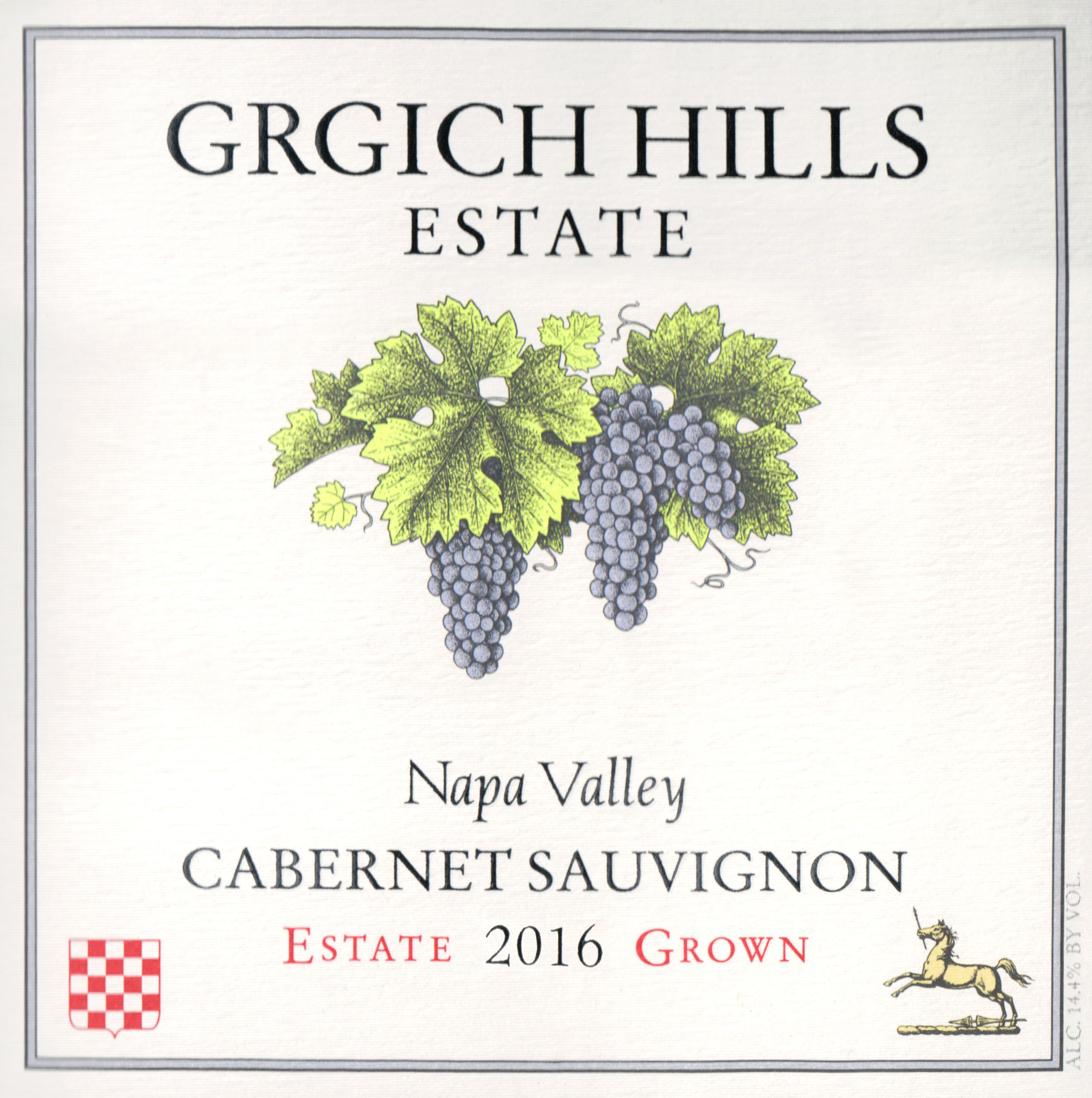 Grgich Hills Cabernet Sauvignon Half Bottle 2016