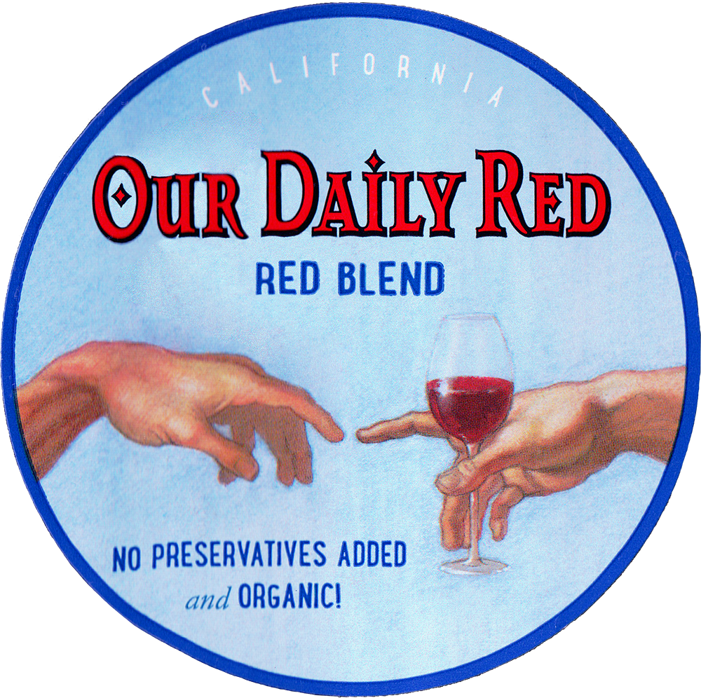 Nevada County Wine Guild Our Daily Red 2018