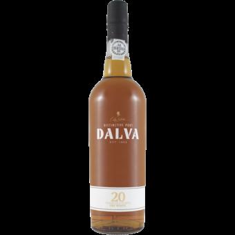 Bottle shot for  Dalva 20 Year Old Dry White Port 750ml