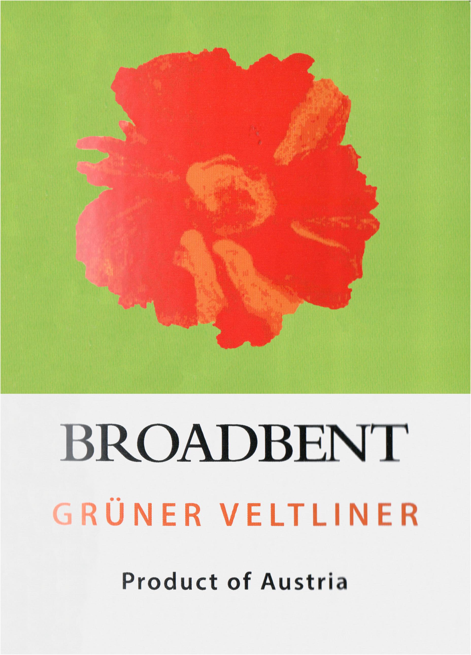 Broadbent Gruner Veltliner 2018