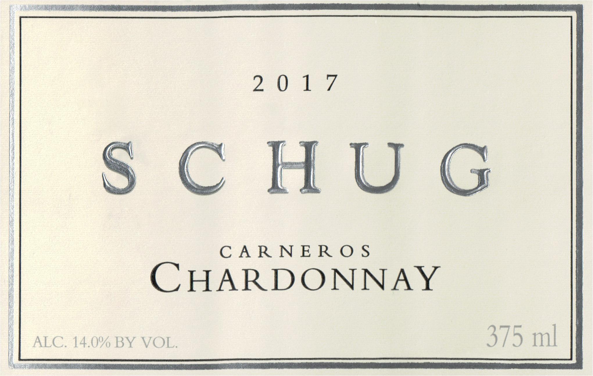 Schug Carneros Chardonnay Estate 2017