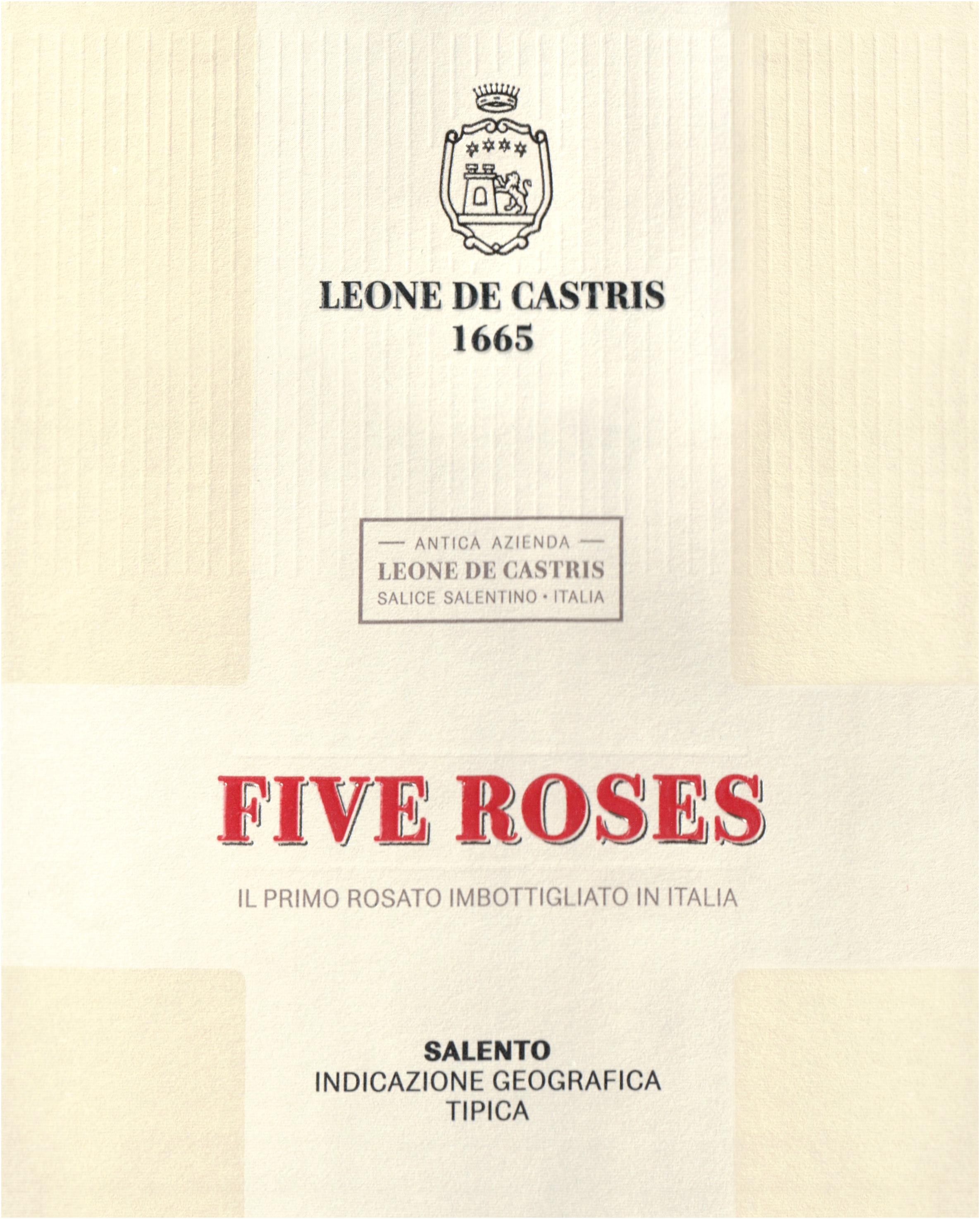 Leone De Castris Five Roses Salento 2018