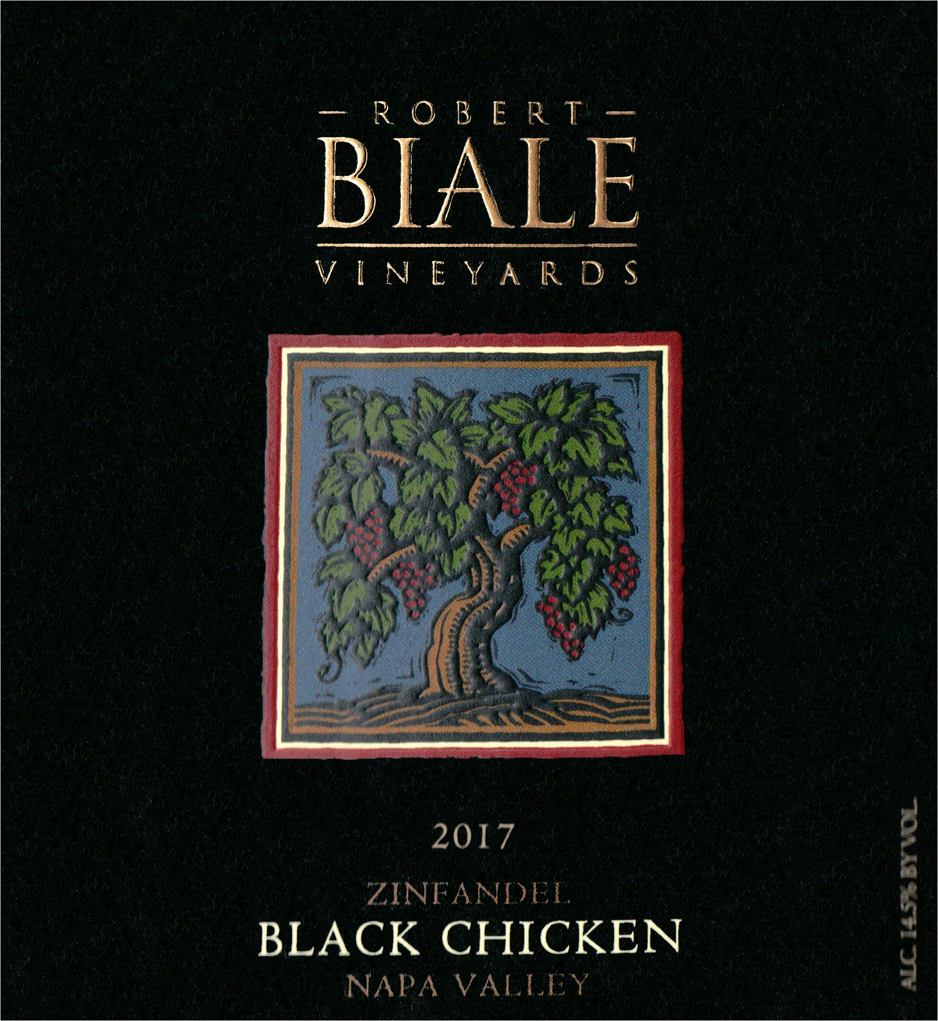 Robert Biale Black Chicken Zinfandel 2017