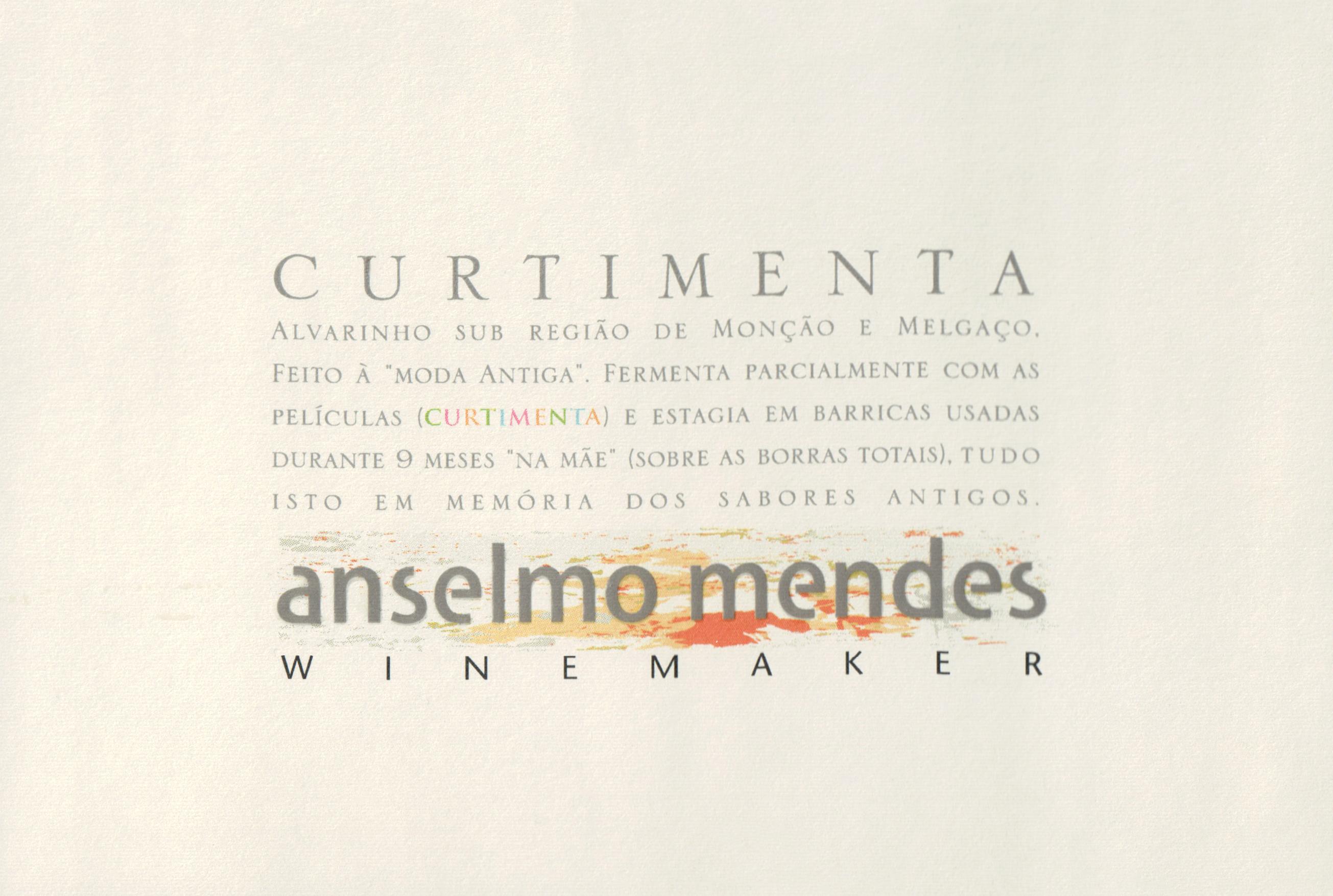 Anselmo Mendes Curtimenta 2016