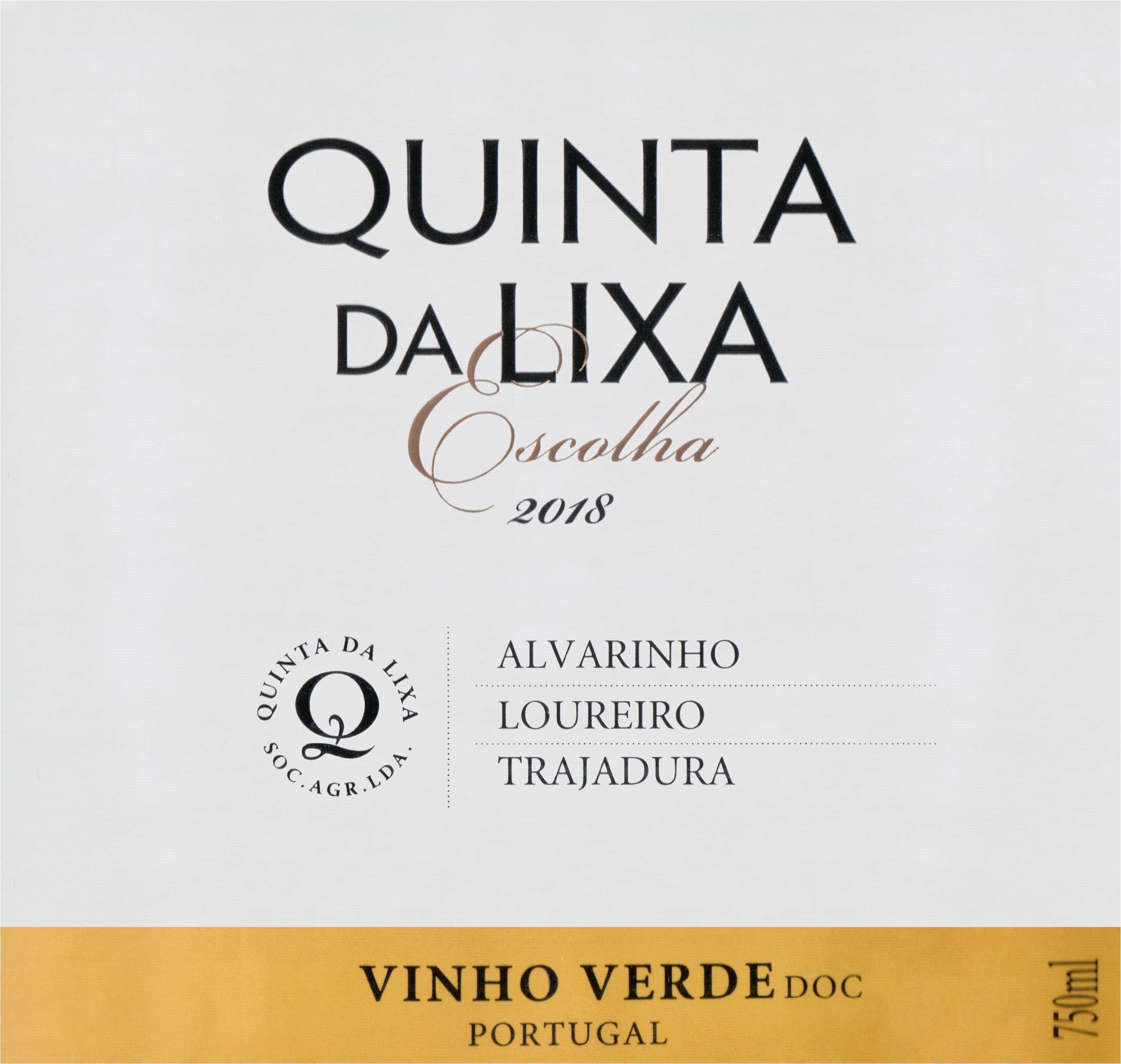 Quinta Da Lixa Escolha 2018