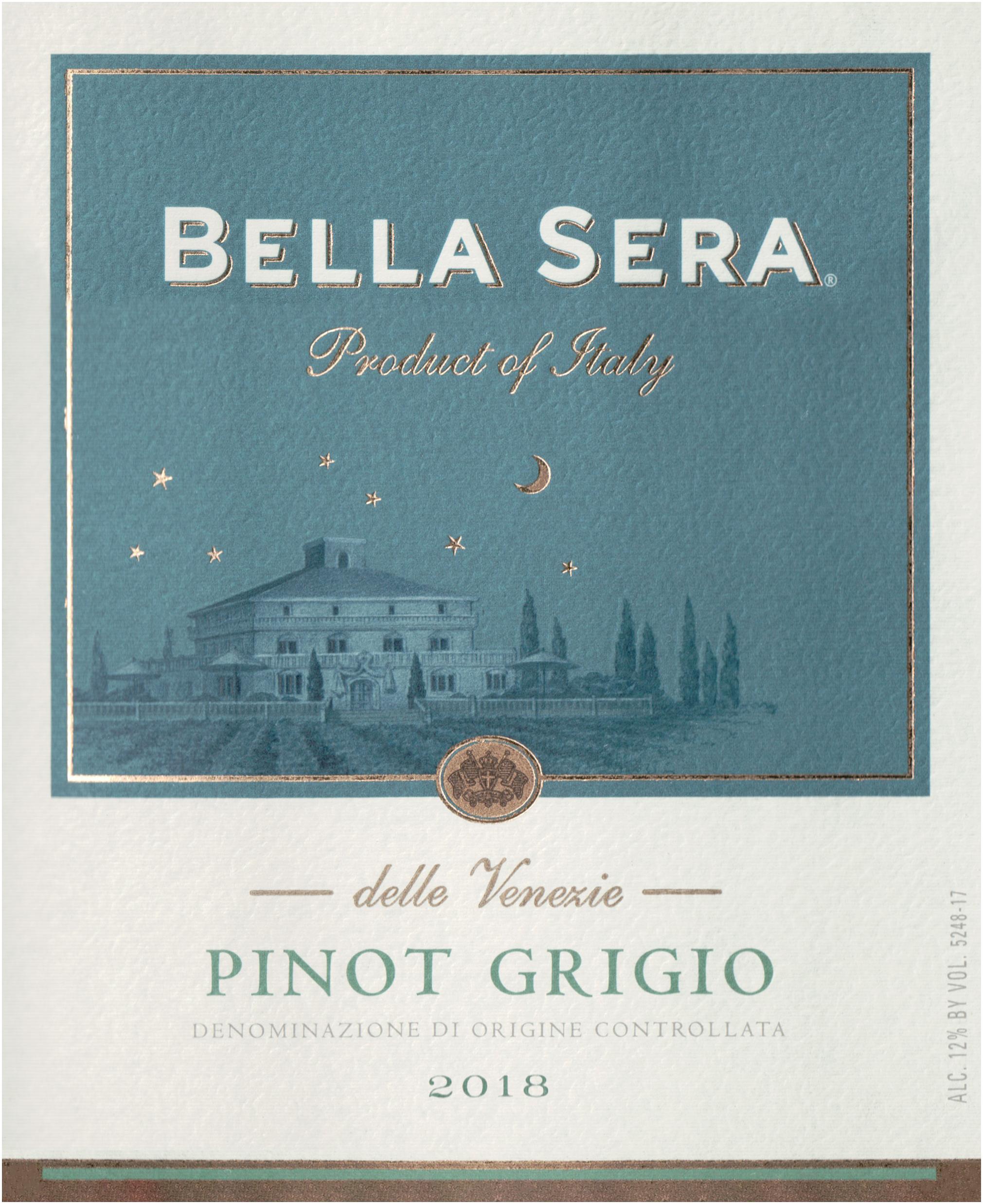 Bella Sera Pinot Grigio 2018