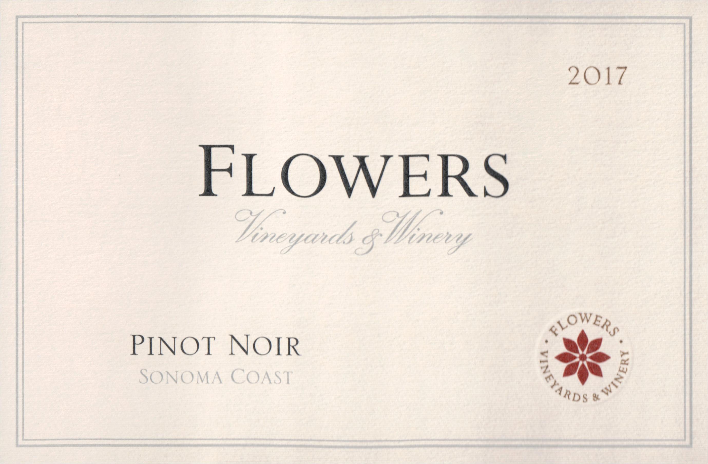 Flowers Sonoma Coast Pinot Noir 2017