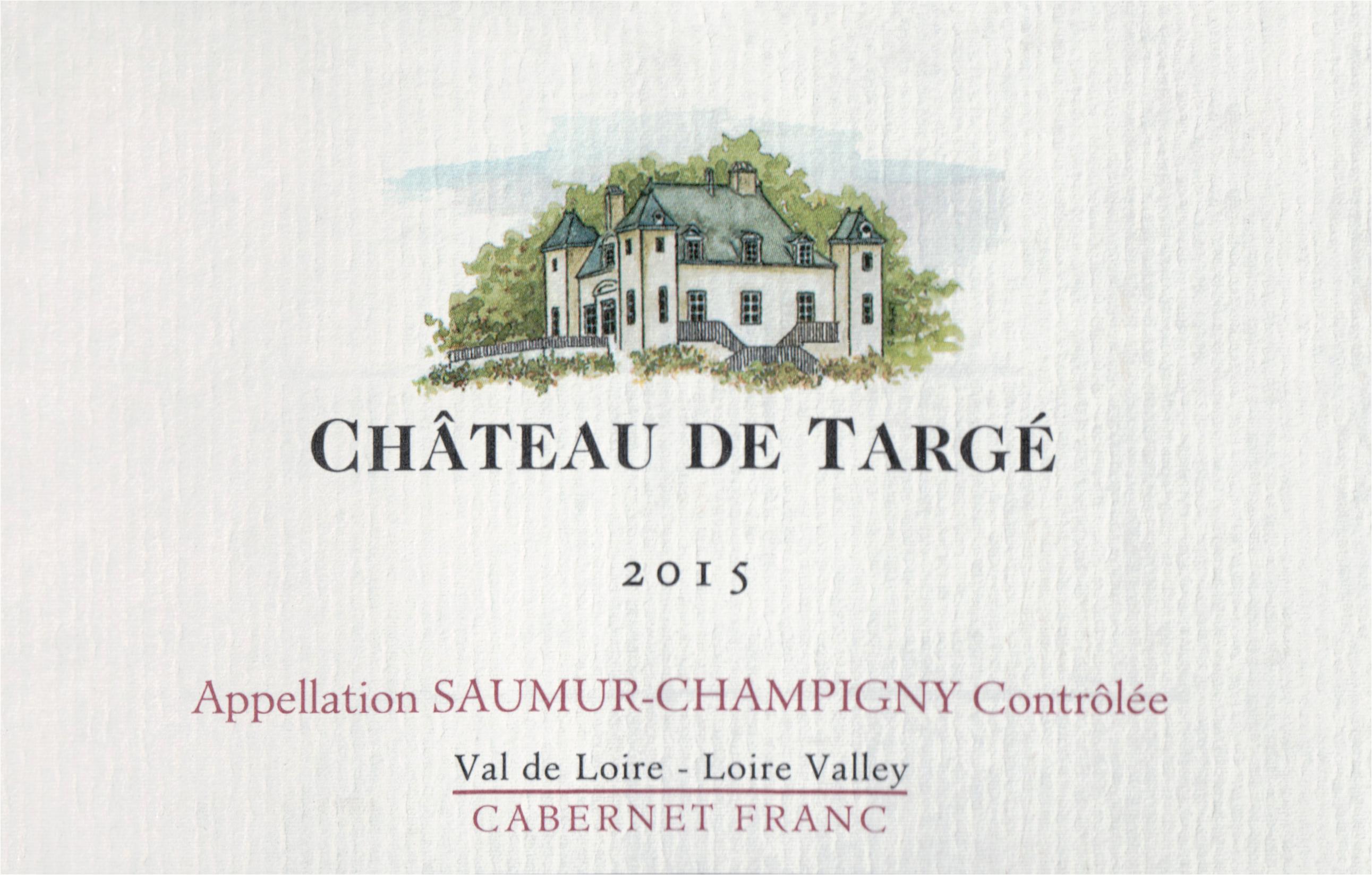 Chateau De Targe Saumur Champigny 2015