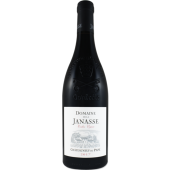 Bottle shot for 2017 Domaine De La Janasse Chateauneuf Du Pape Vieilles Vignes