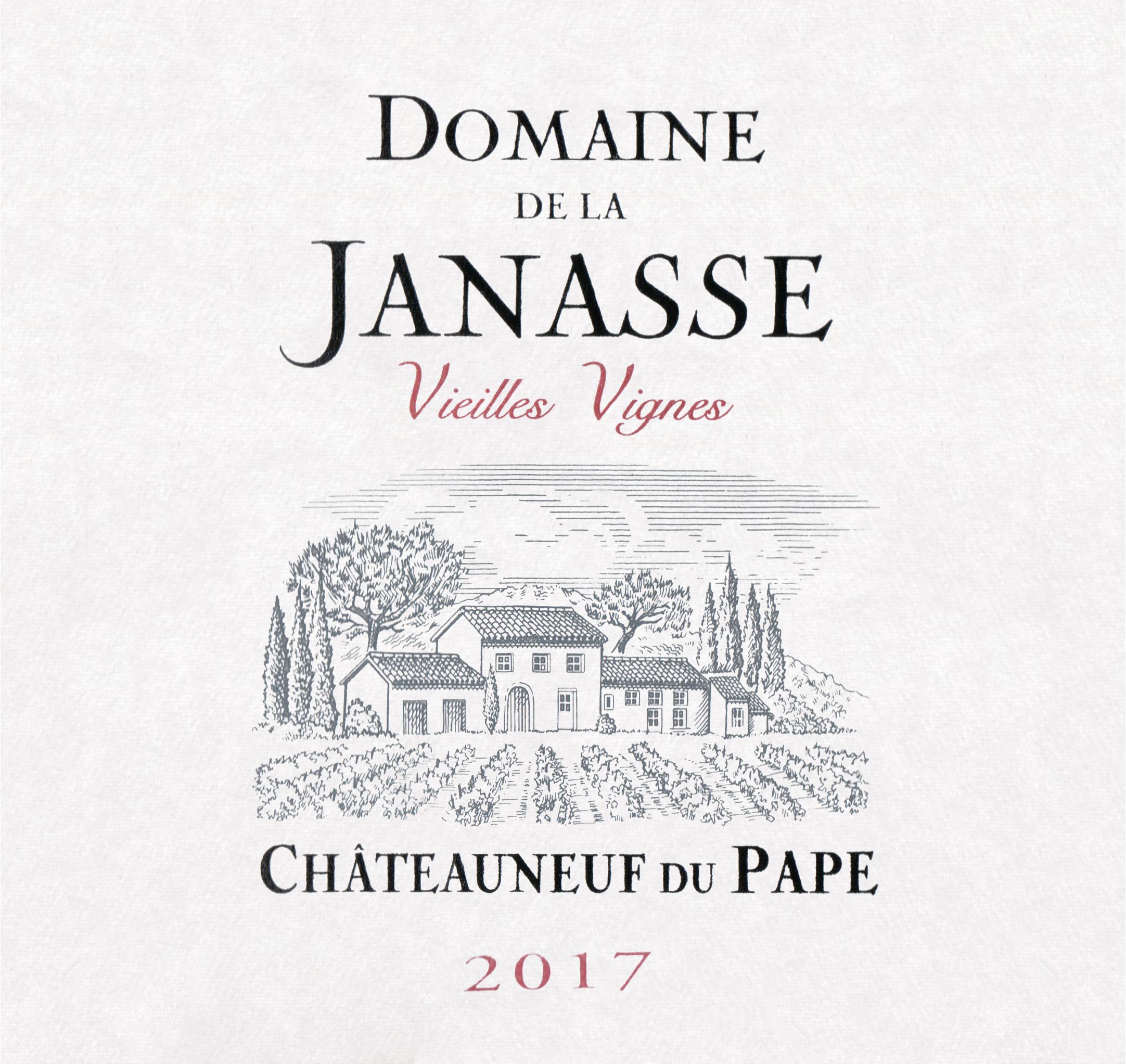 Domaine De La Janasse Chateauneuf Du Pape Vieilles Vignes 2017