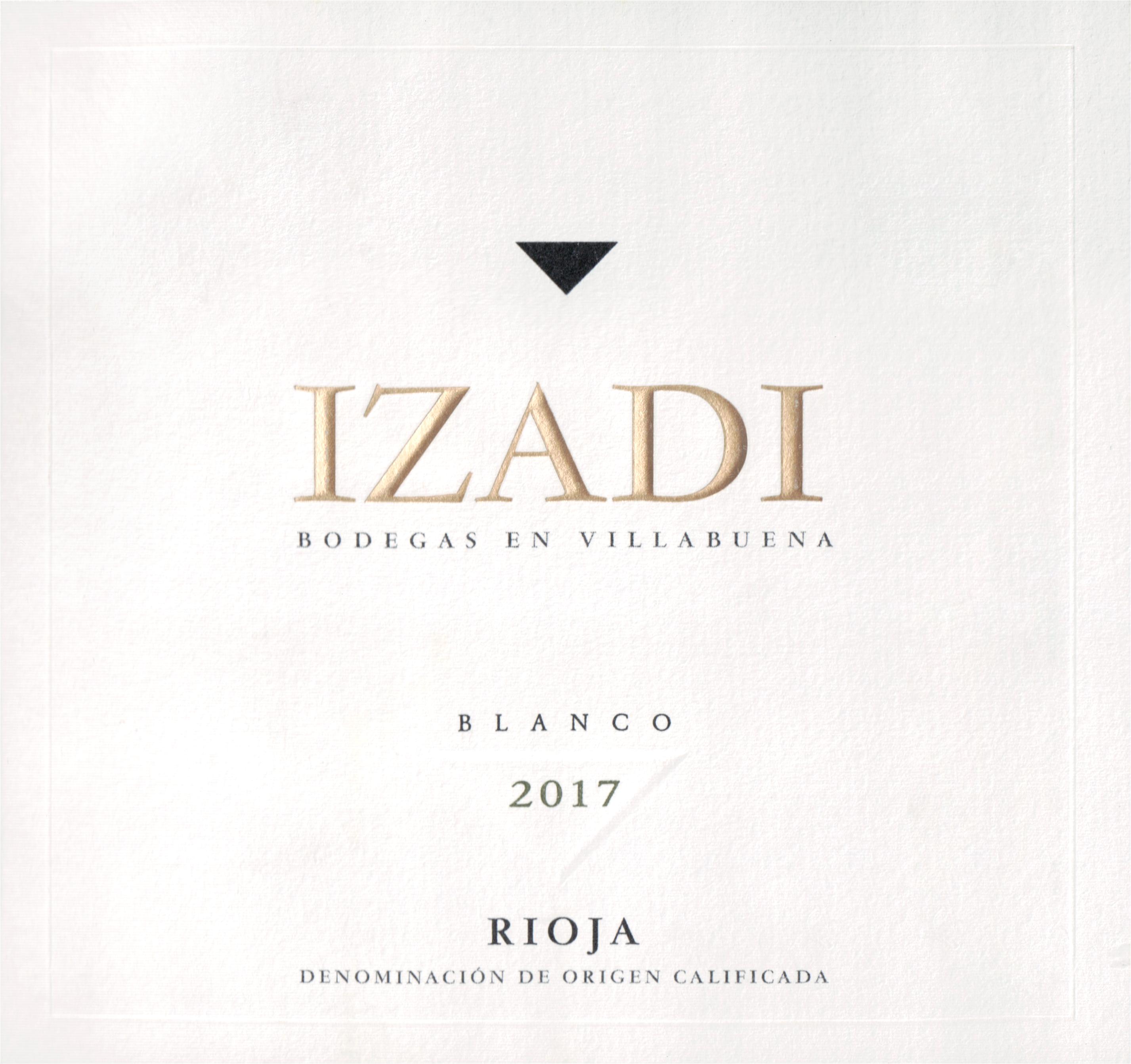 Bodegas Izadi Rioja Blanco 2017