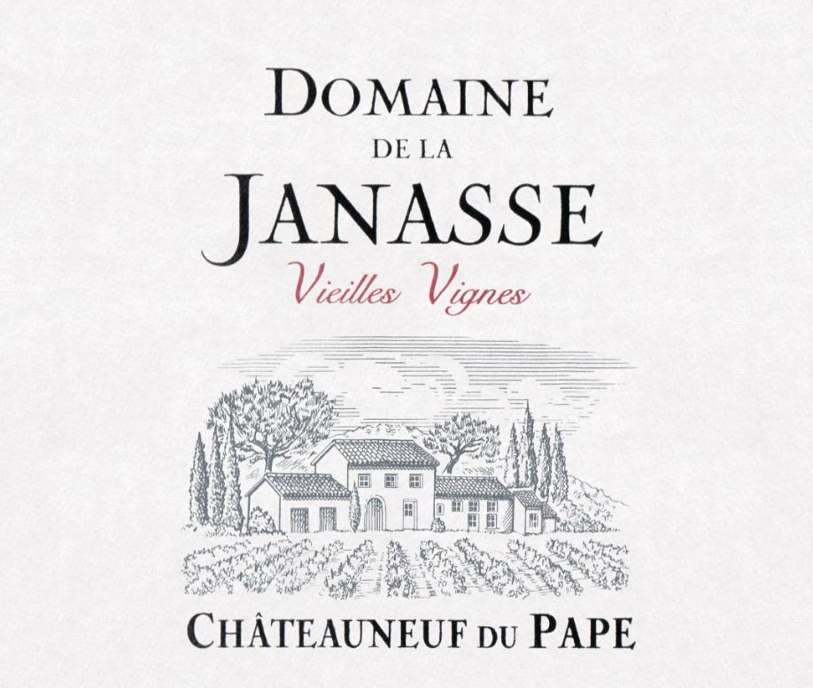 Domaine De La Janasse Chateauneuf Du Pape Vieilles Vignes Magnum 2017