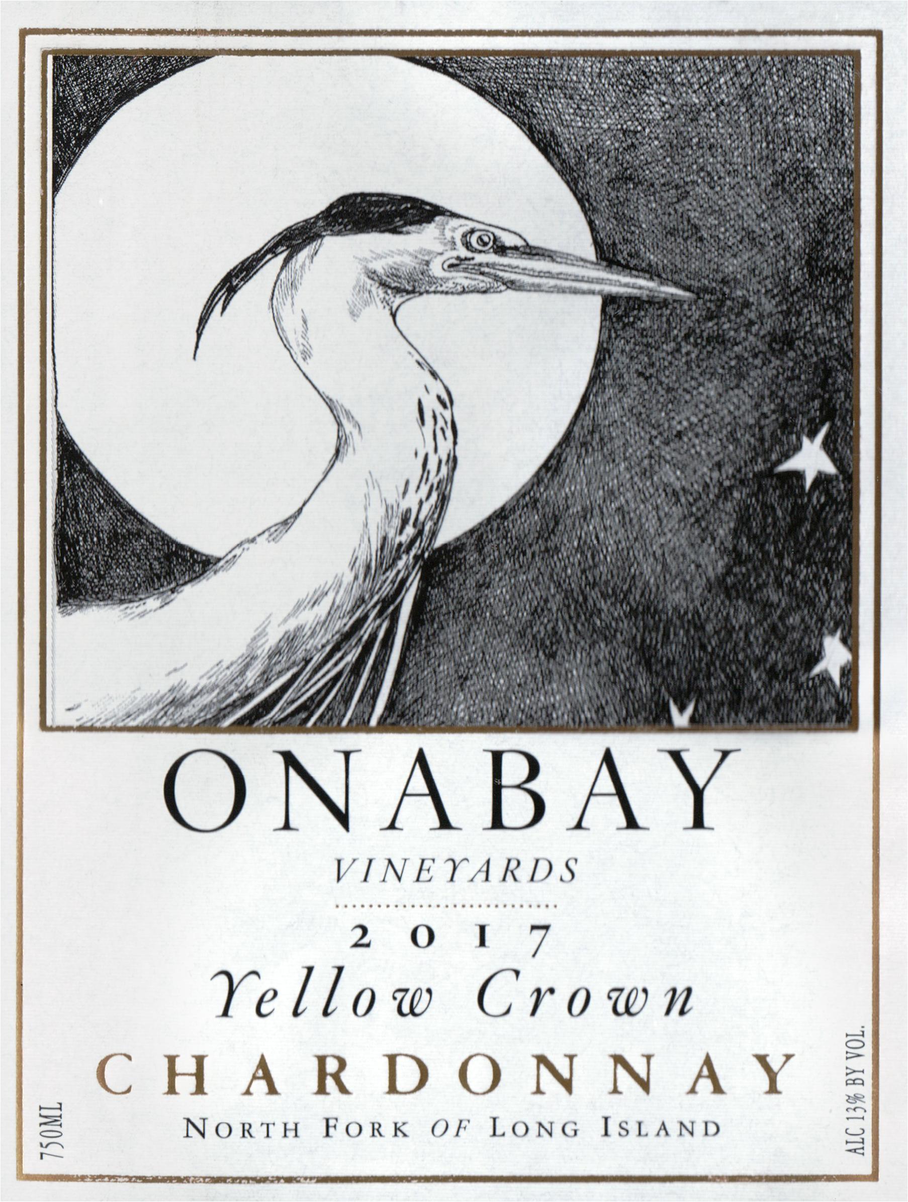Onabay Chardonnay Yellow Crown 2017