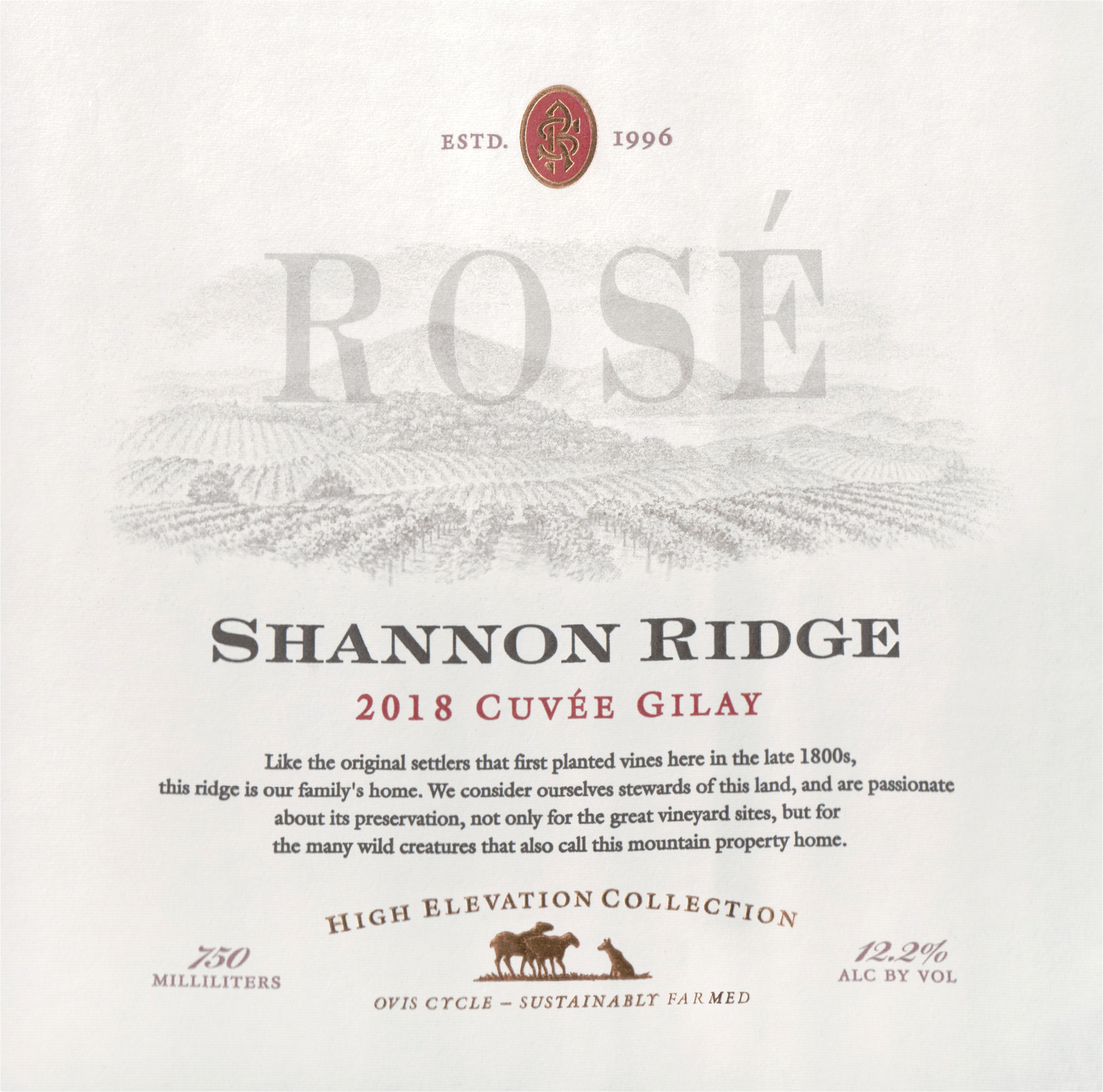 Shannon Ridge Rose Gilay 2018