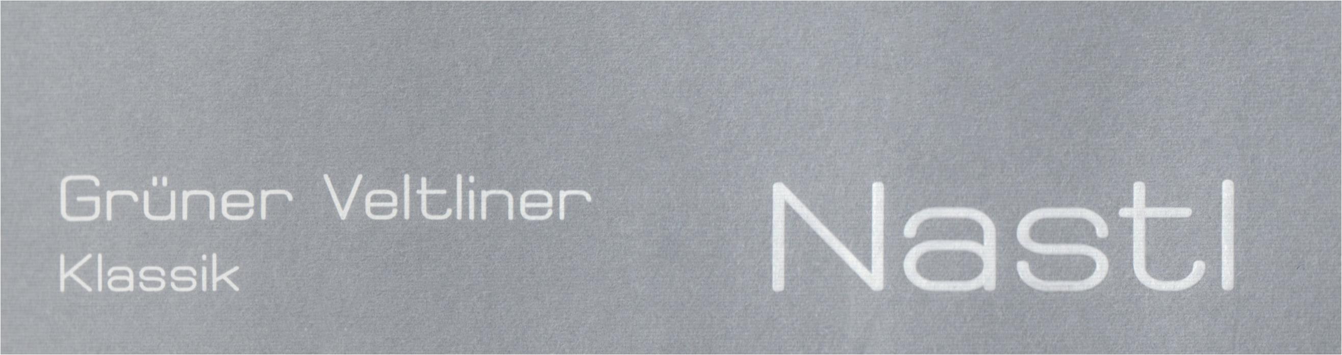 Nastl Gruner Veltliner Klassik 2018