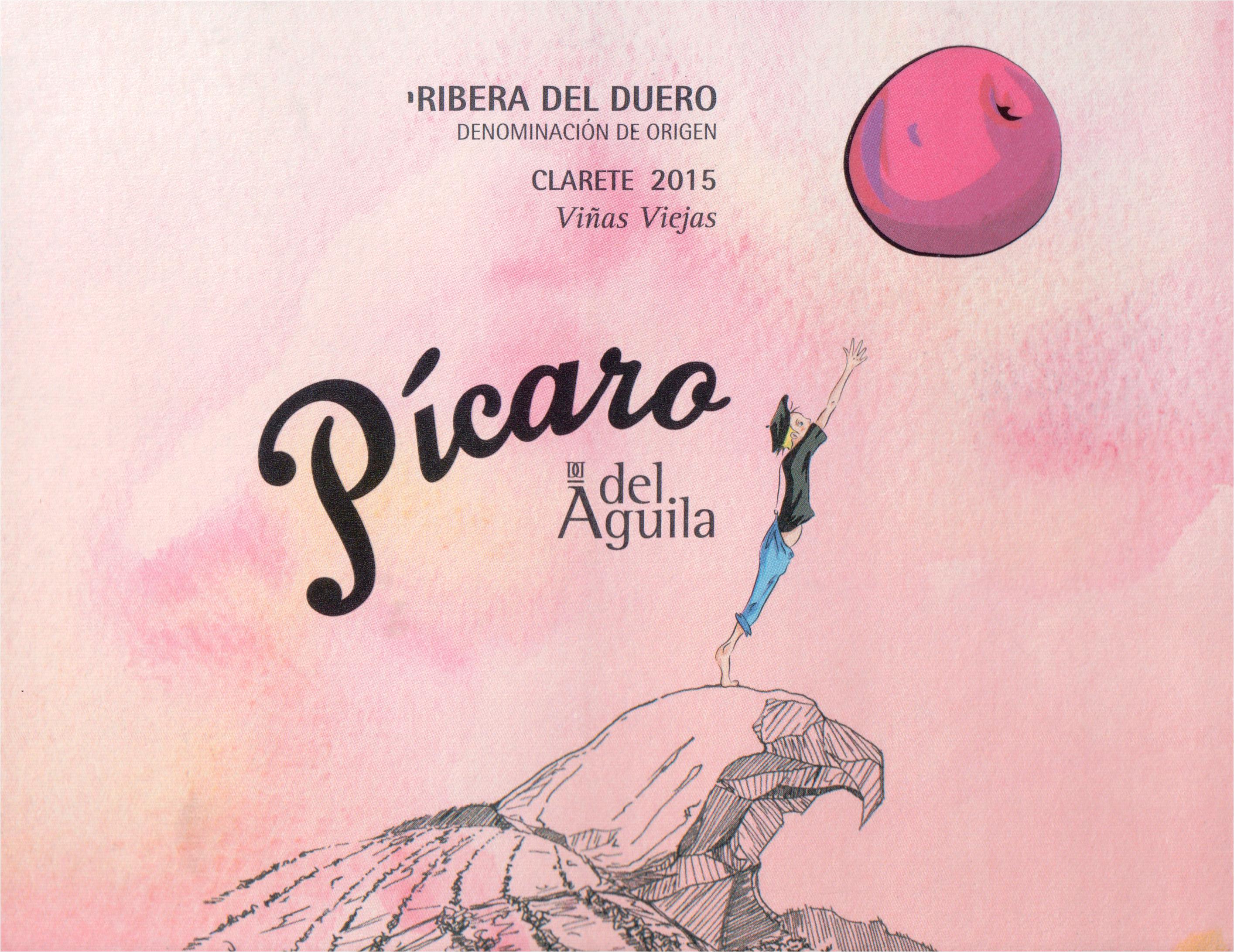 Dominio Del Aguila Picaro Clarete Rosato Ribera Del Duero 2015