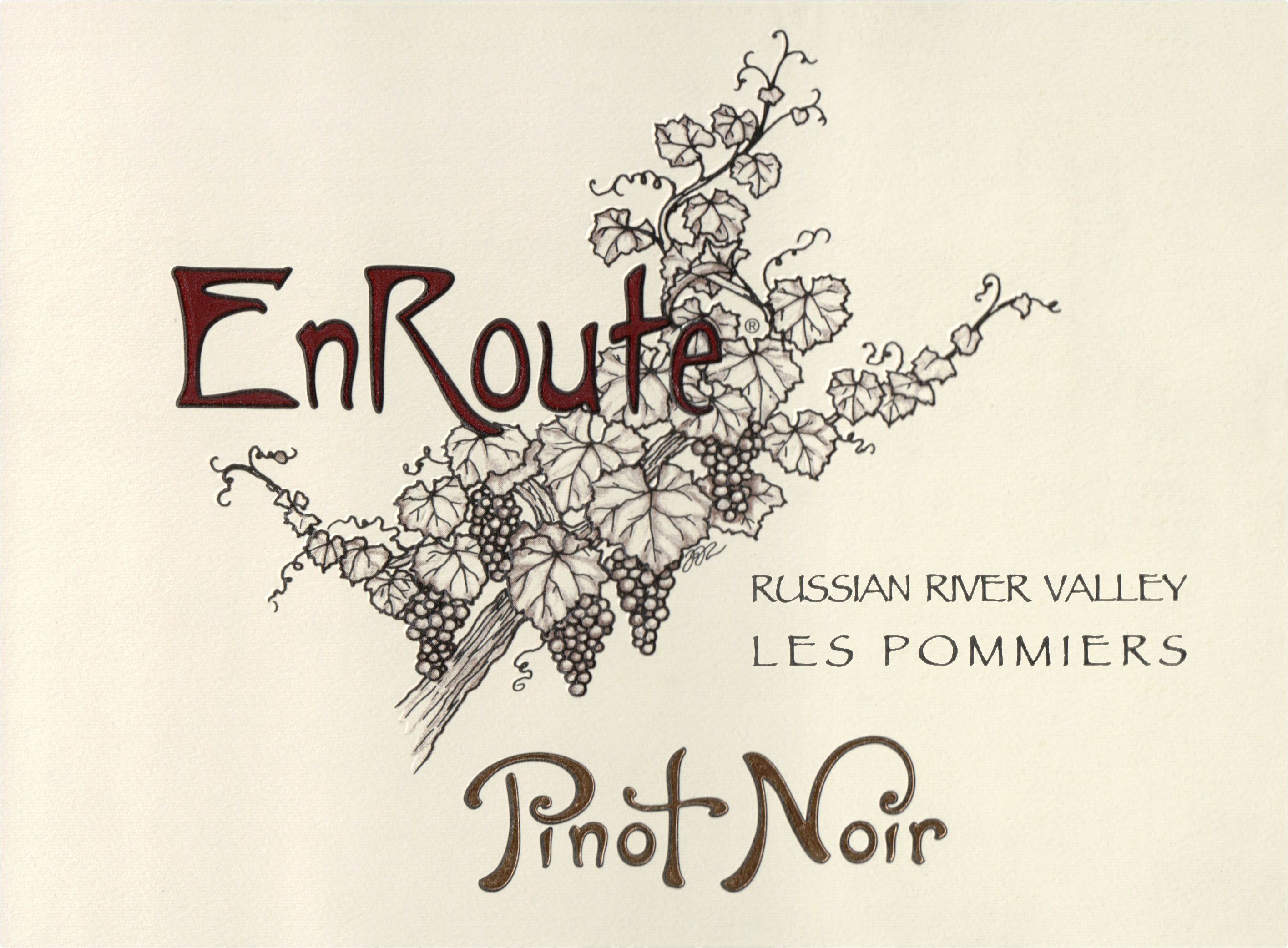 Enroute Russian River Valley Pinot Noir Les Pommiers 2017