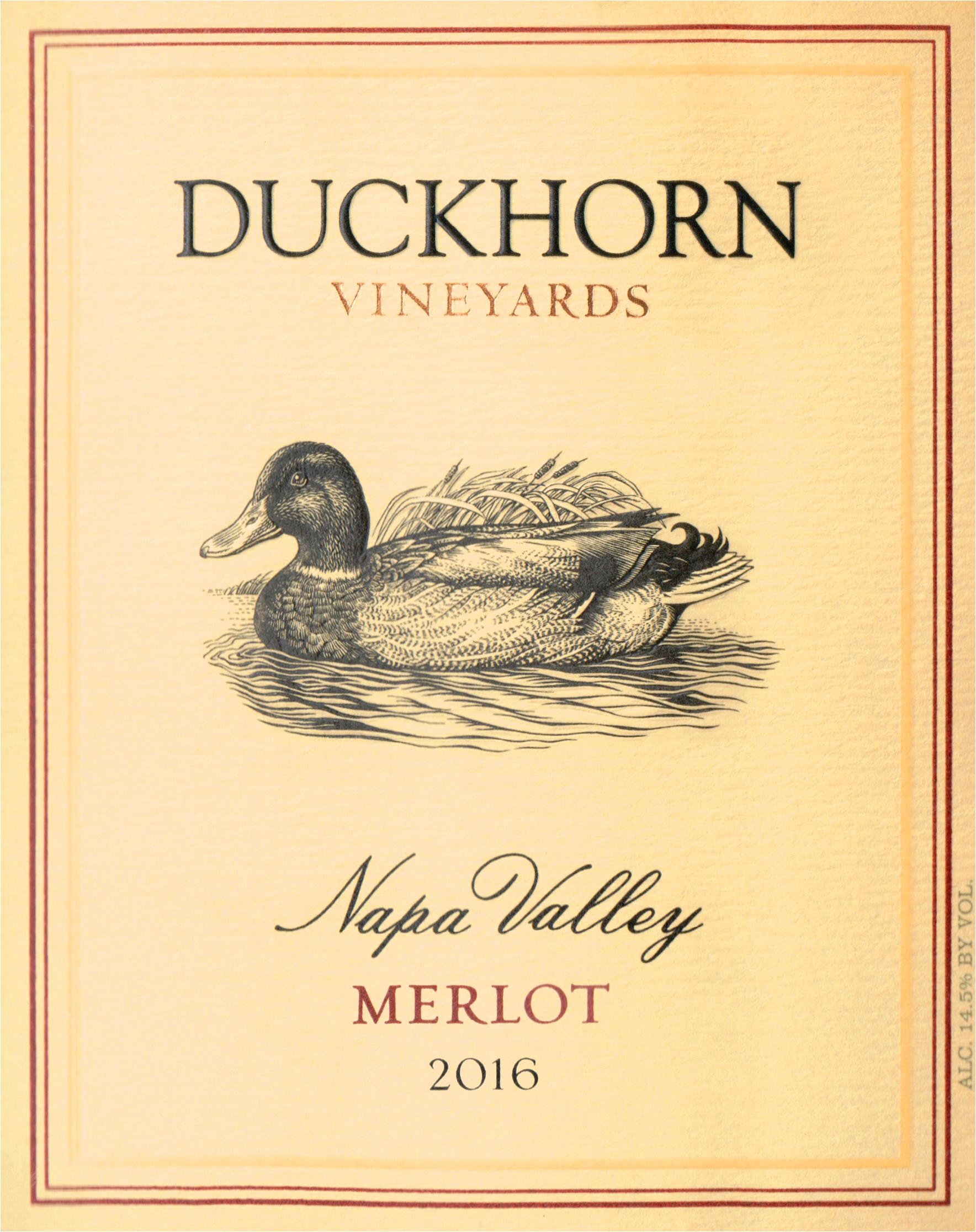 Duckhorn Merlot Napa 2016