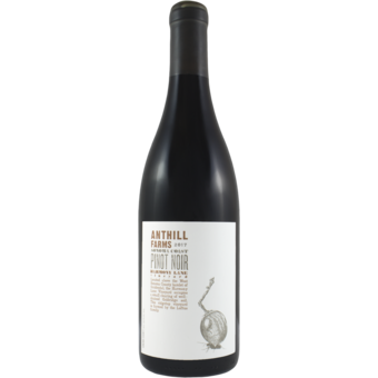 Bottle shot for 2017 Anthill Farms Harmony Lane Pinot Noir