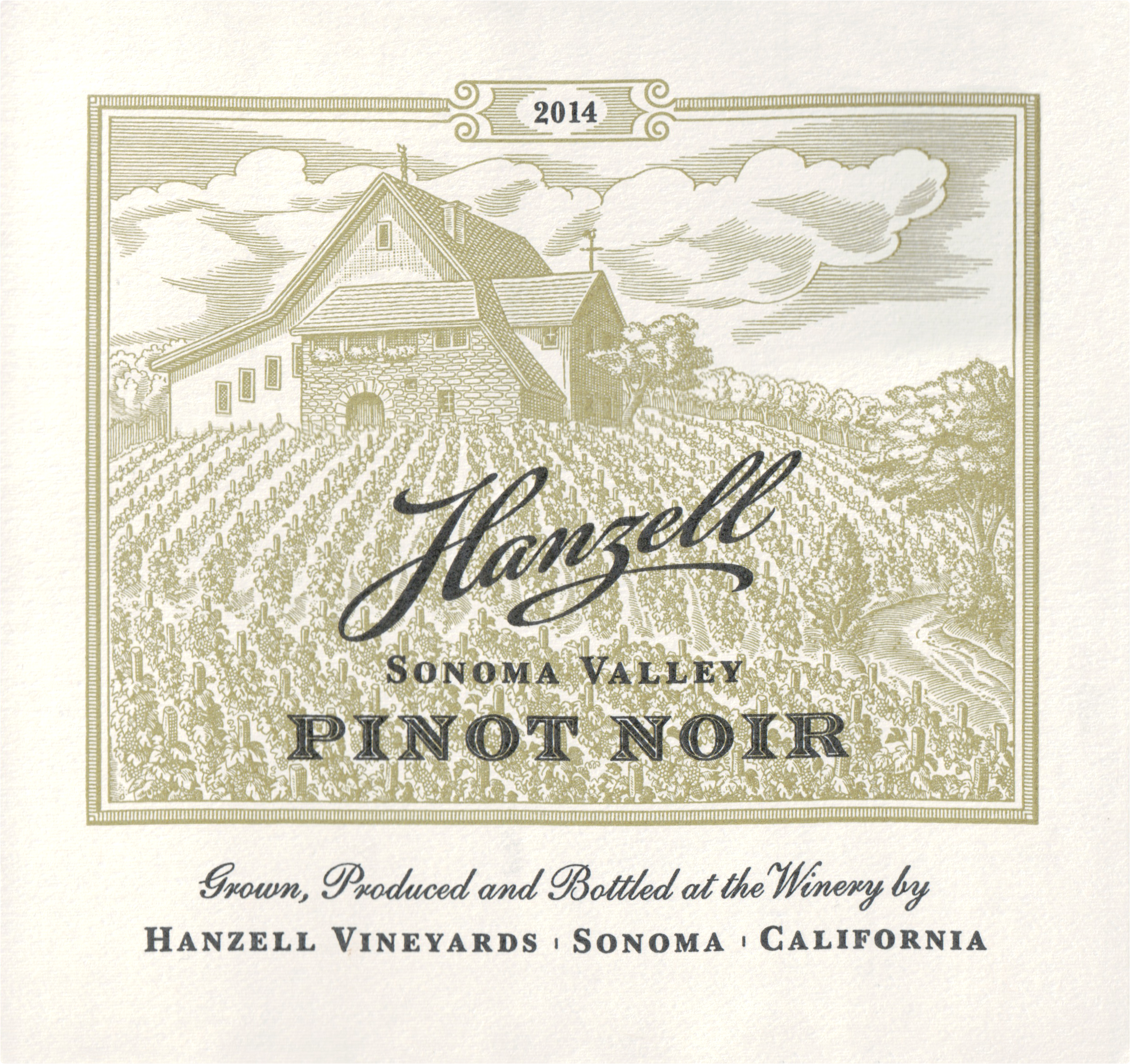 Hanzell Estate Pinot Noir 2014