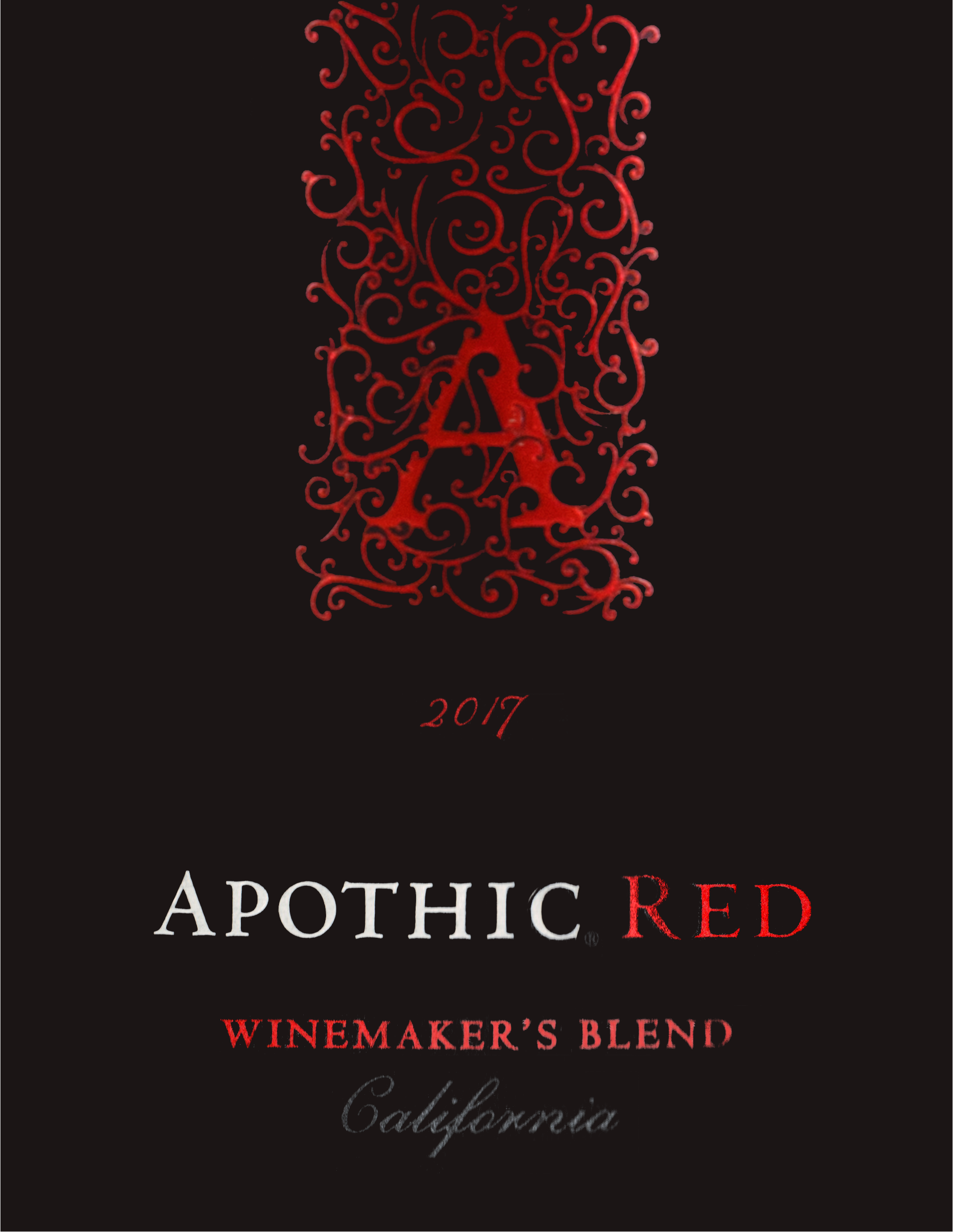 Apothic Winemakers Red Blend 2017
