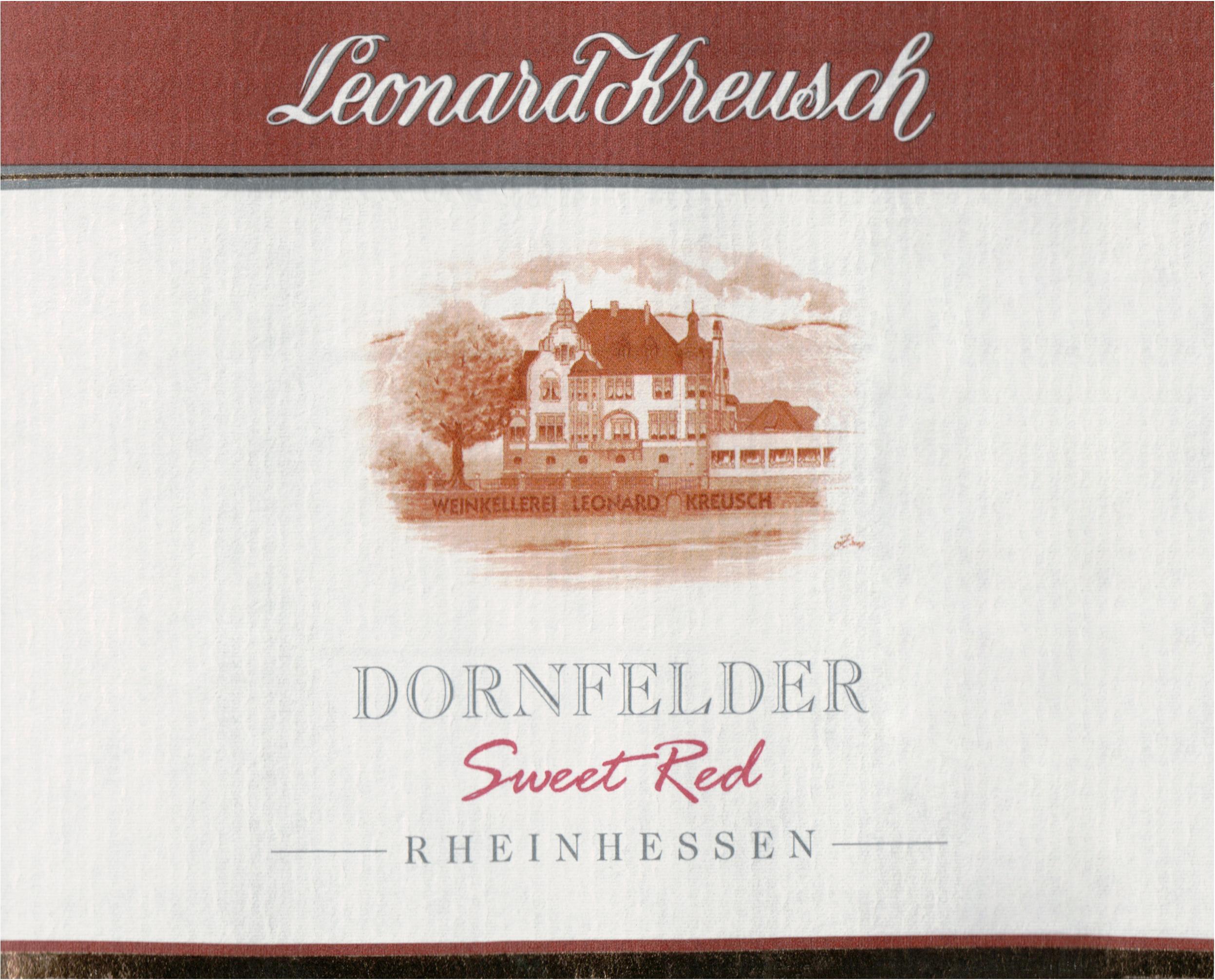 Leonard Kreusch Dornfelder