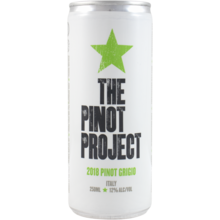 2018 Pinot Project Pinot Grigio Can