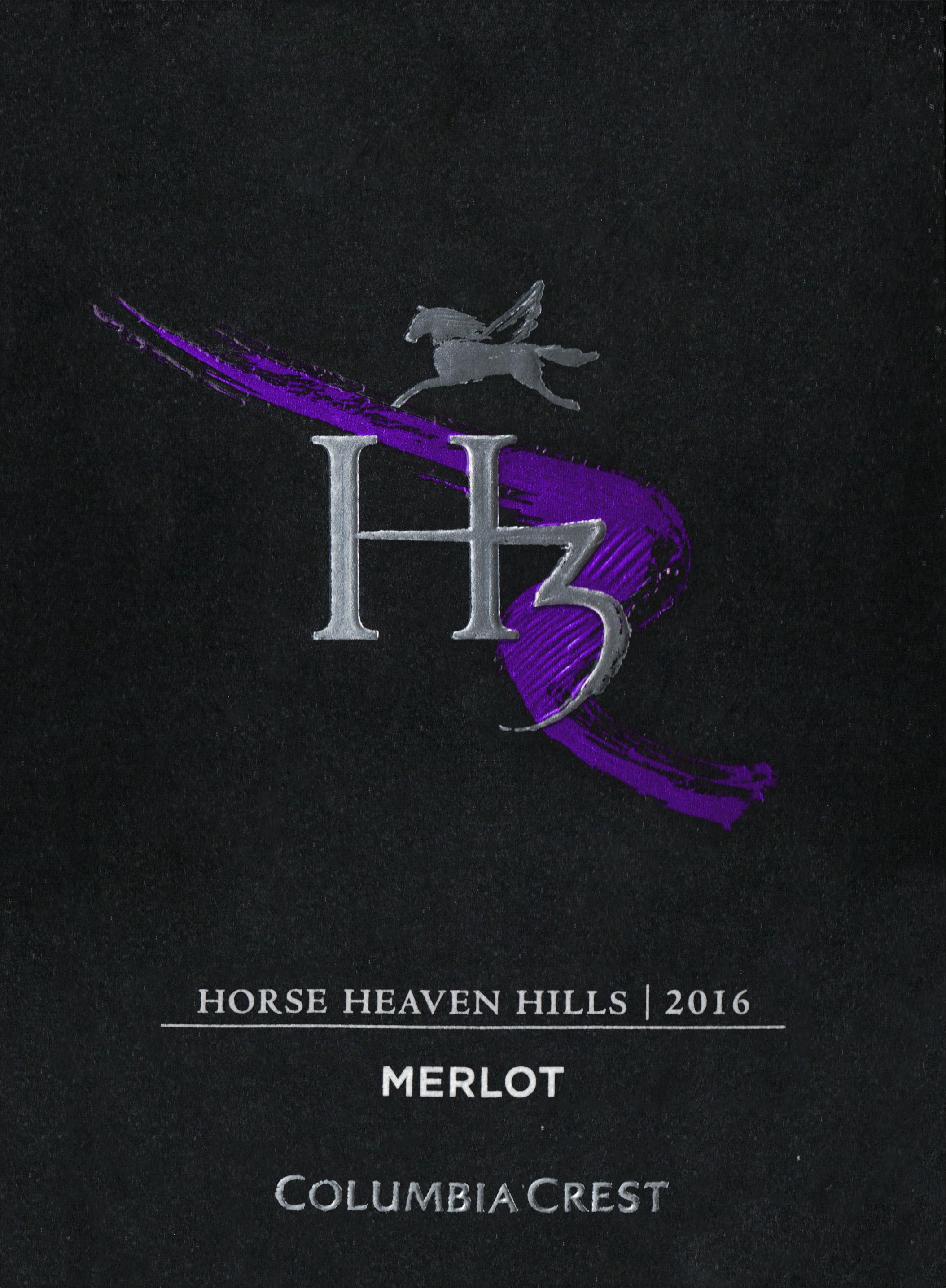 Columbia Crest H3 Merlot 2016