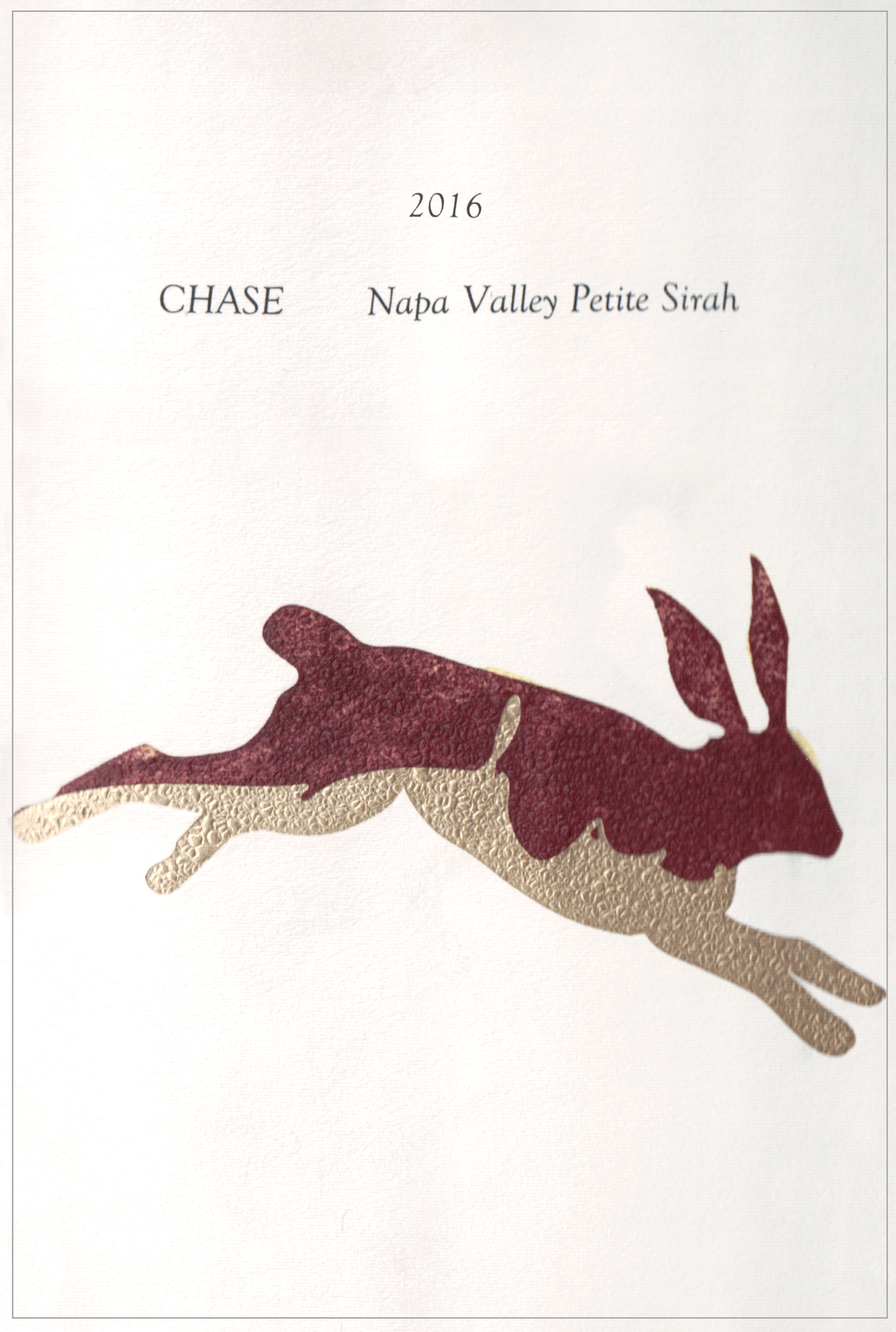 Chase Family Cellars Stags Leap Cabernet Sauvignon 2016