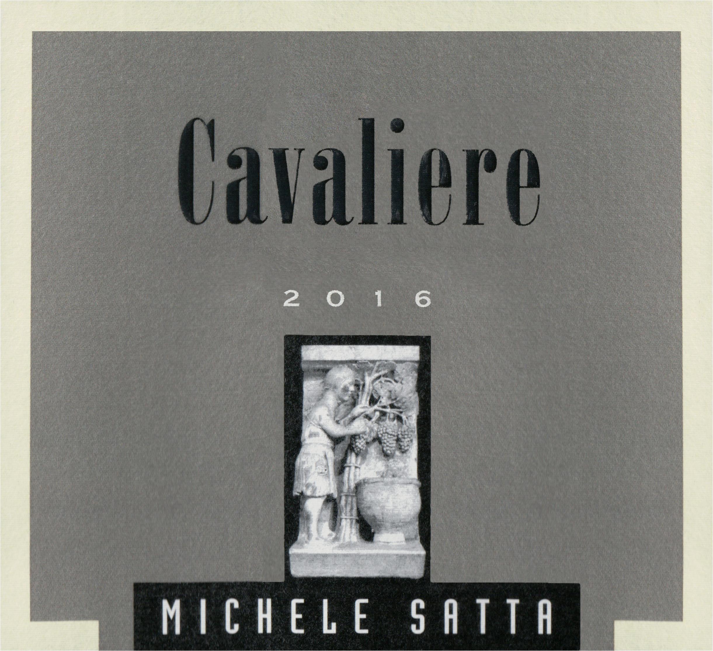 Michele Satta Cavaliere 2016