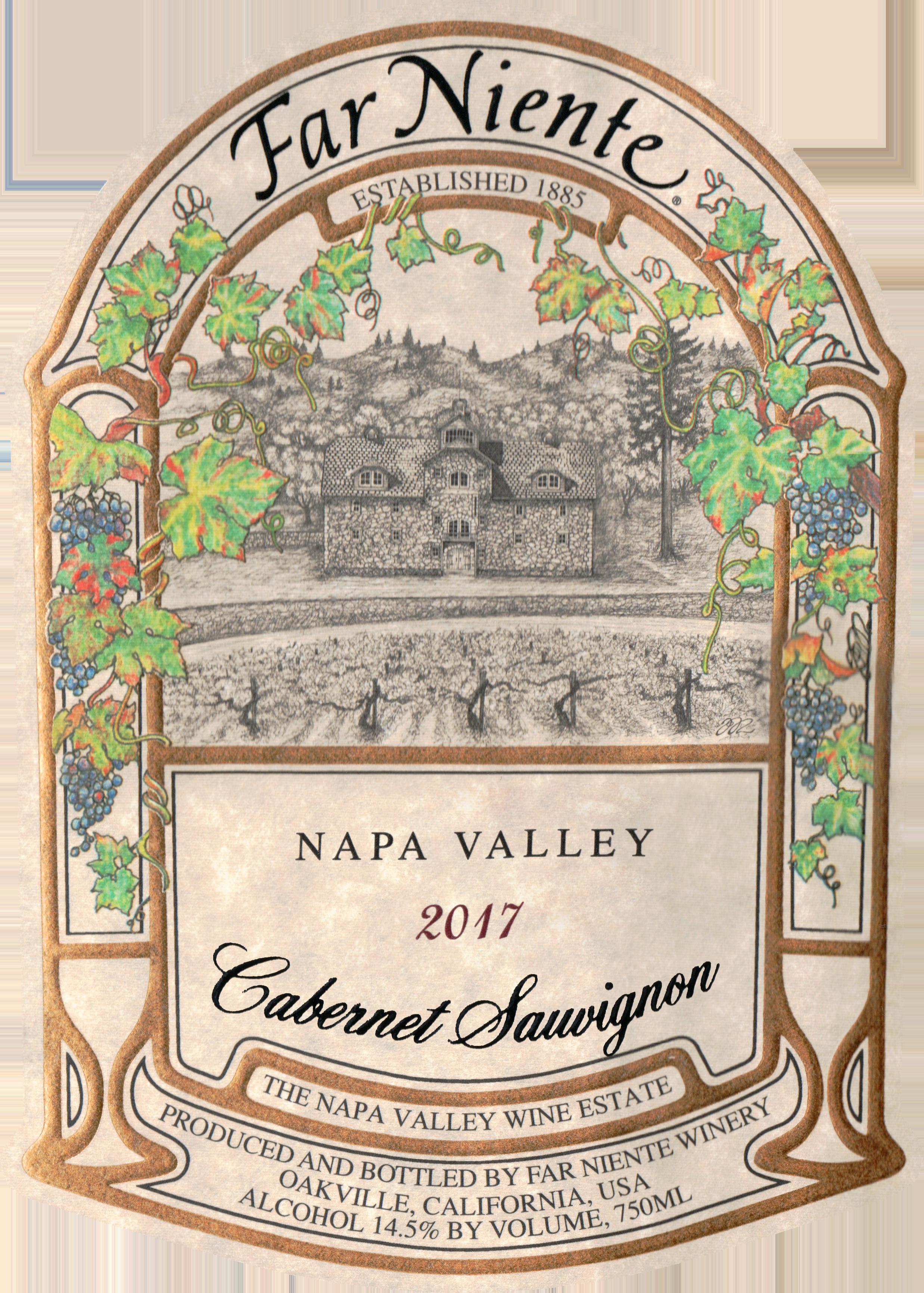 Far Niente Napa Valley Cabernet Sauvignon 2017