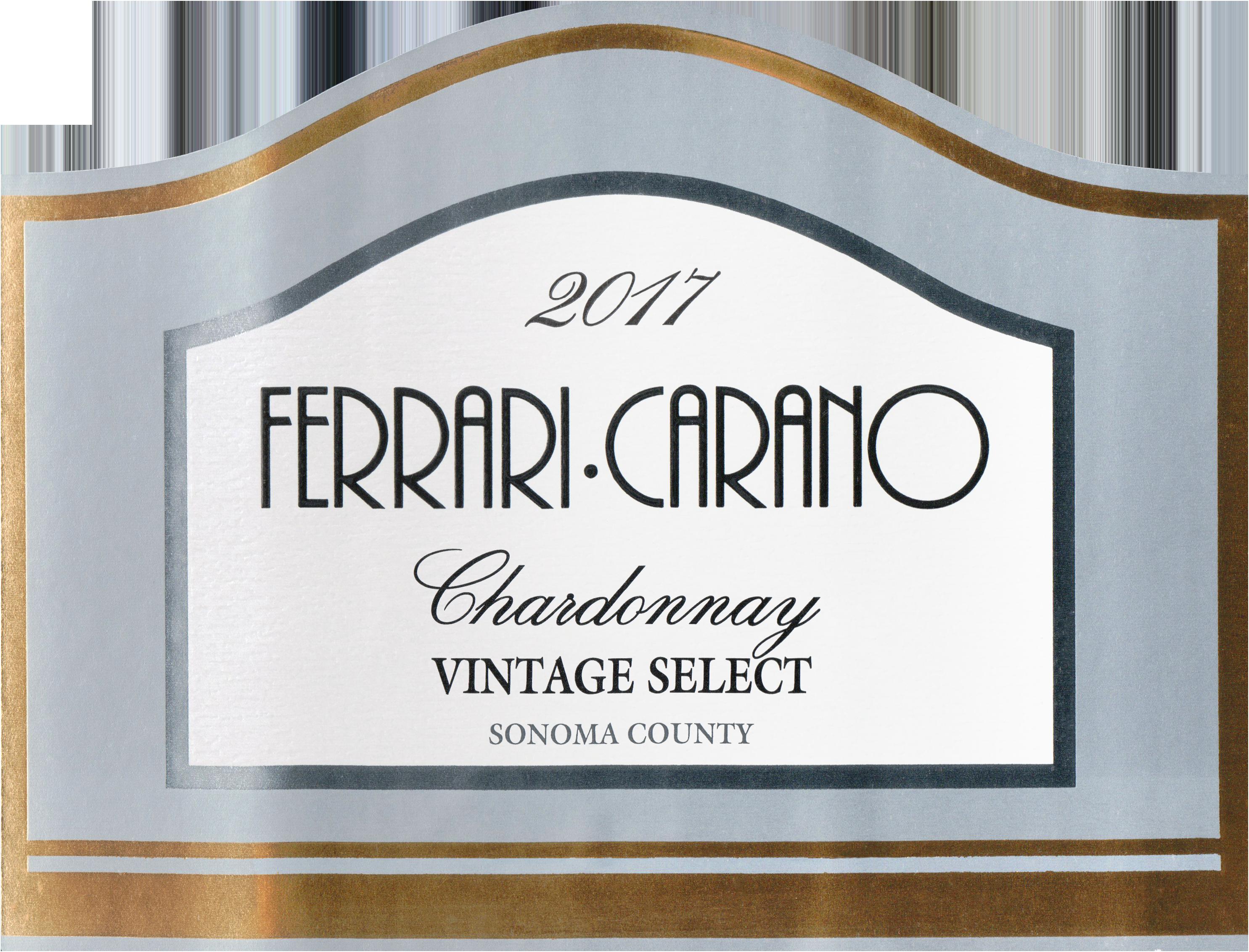 2017 Ferrari Carano Chardonnay Wine Library