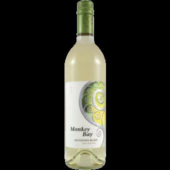 Bottle shot for 2018 Monkey Bay Sauvignon Blanc Marlborough