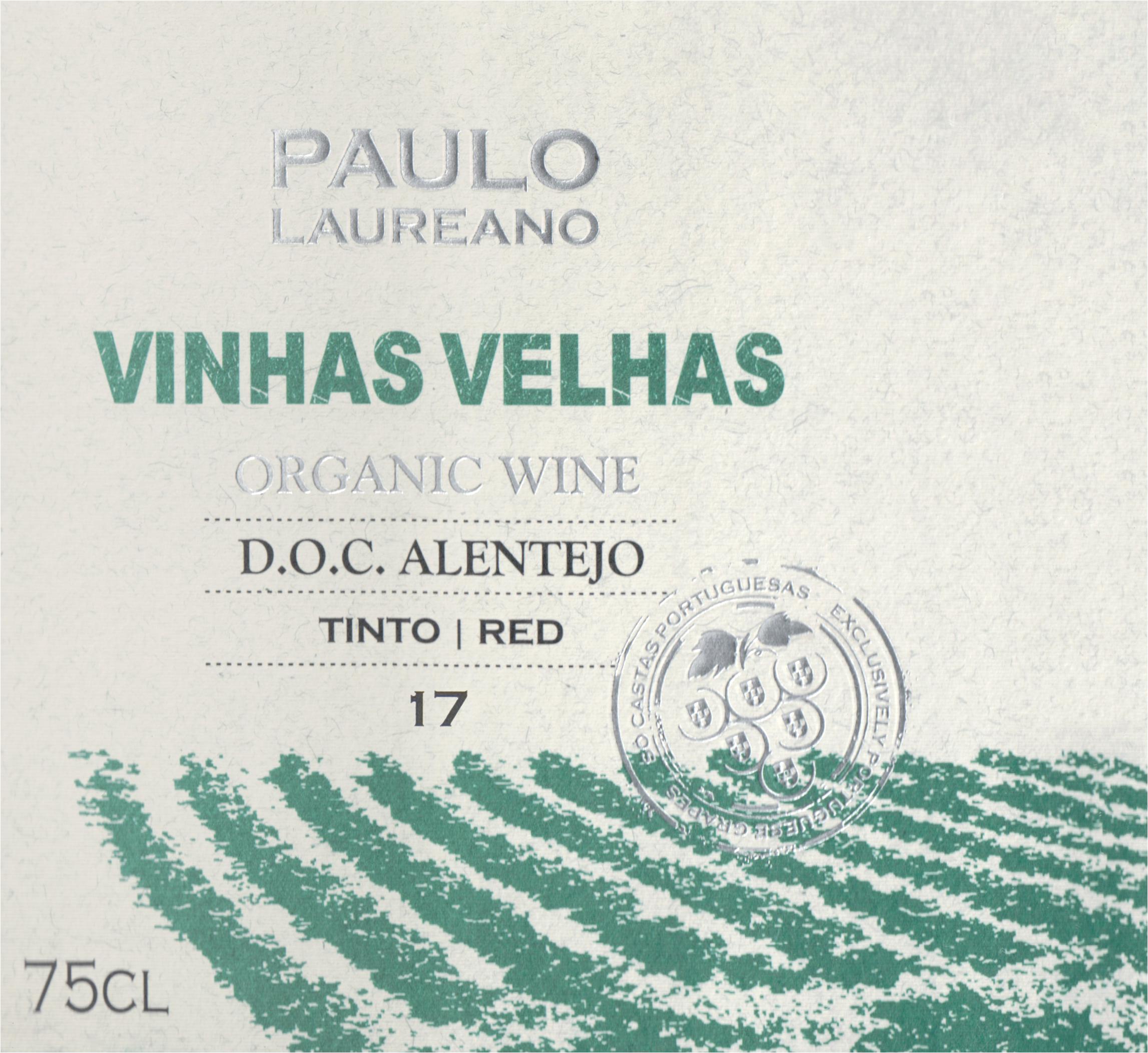 Paulo Laureano Vinhas Velhas Organic 2017