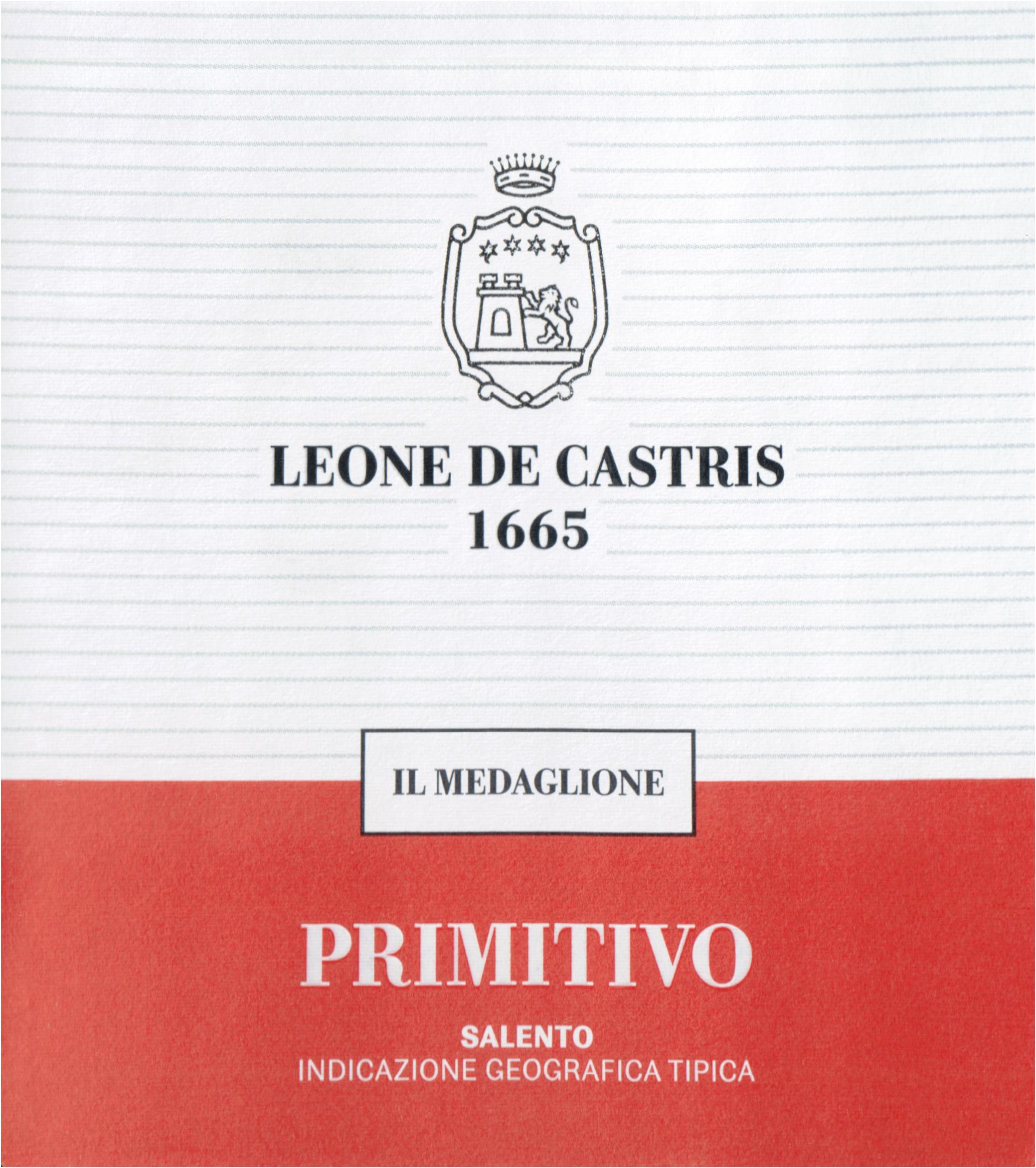 Leone De Castris Primitivo Salento 2018