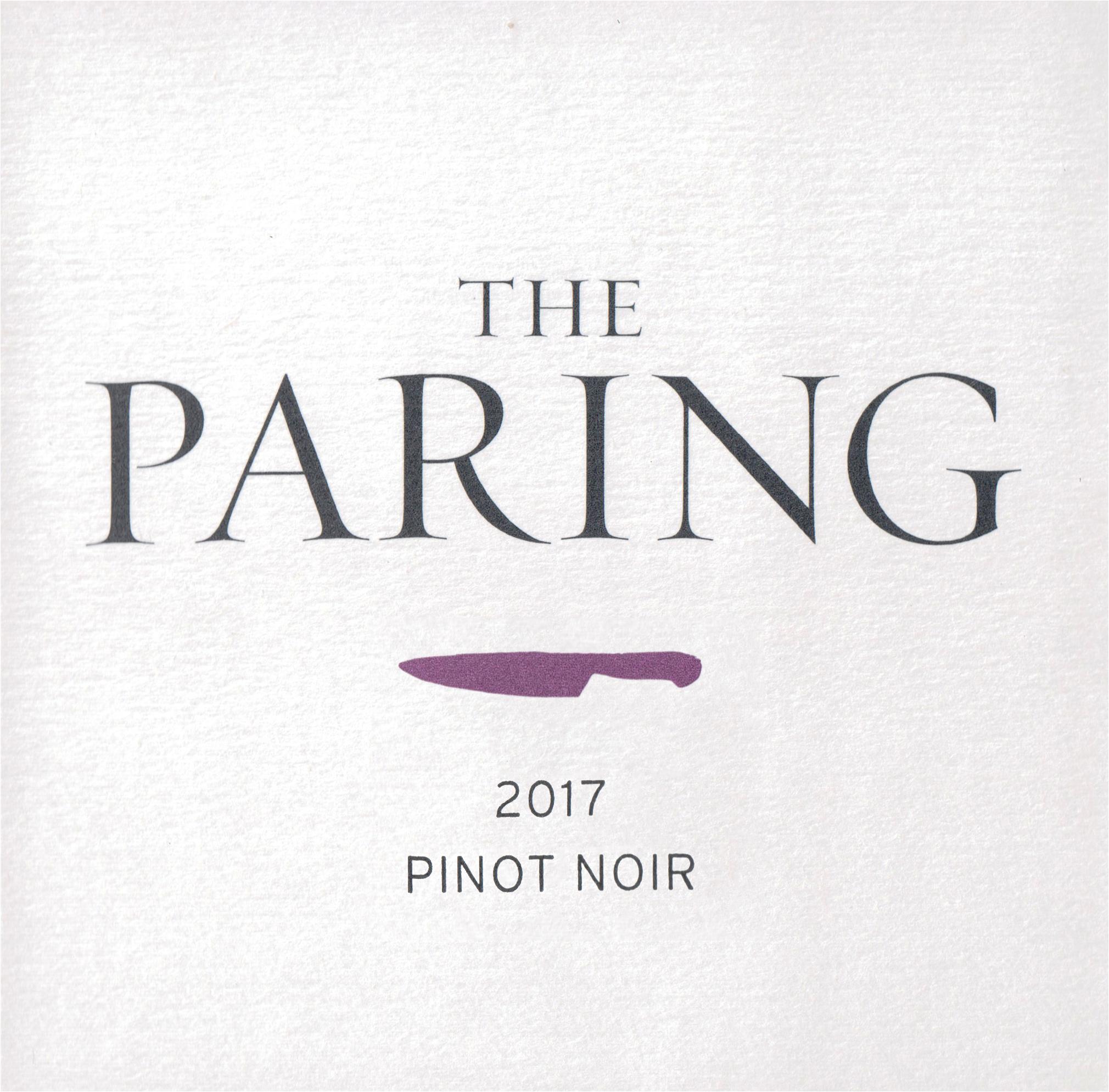 The Paring Pinot Noir Santa Rita Hills 2017