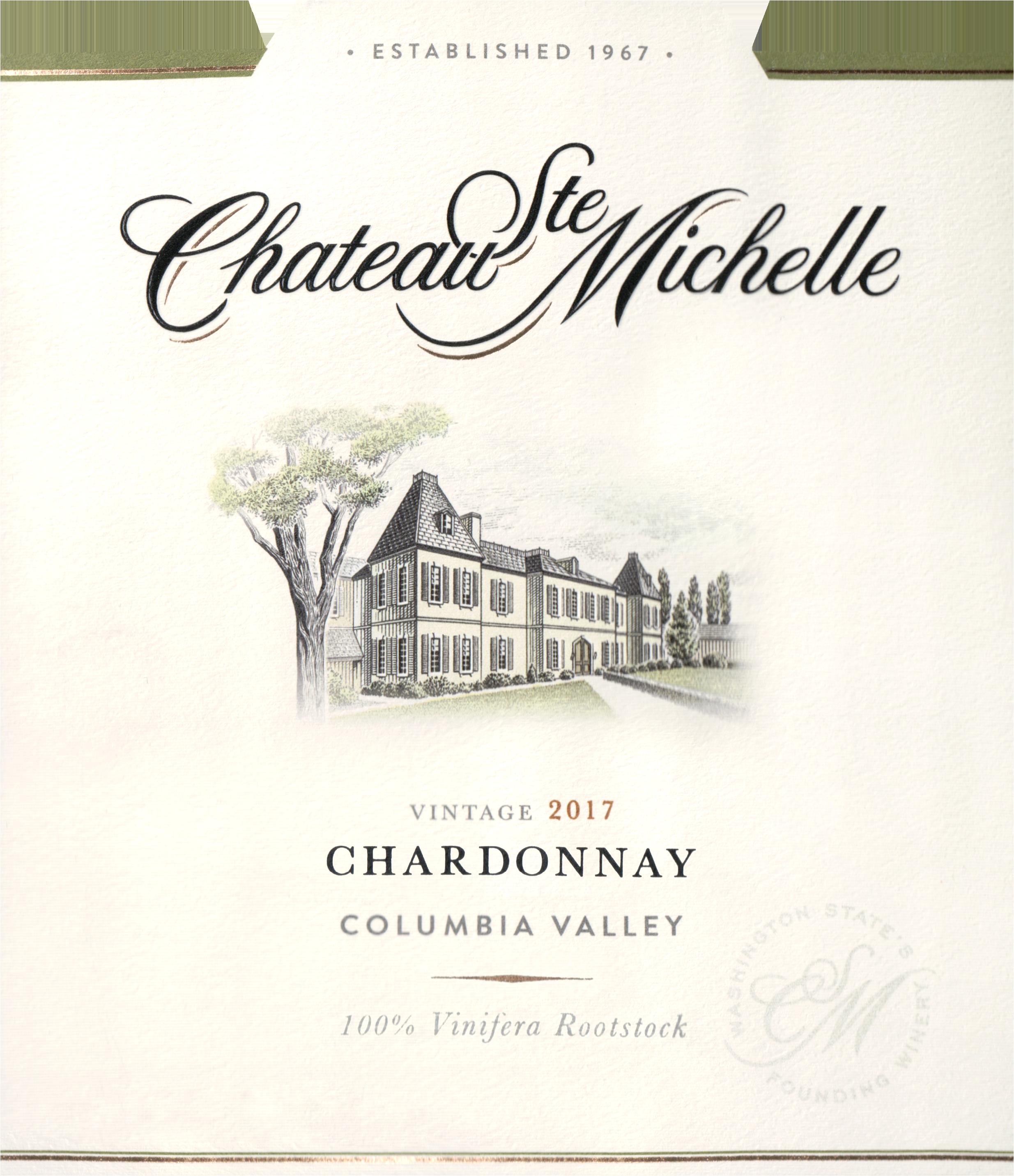 Chateau St Michelle Chardonnay 2017