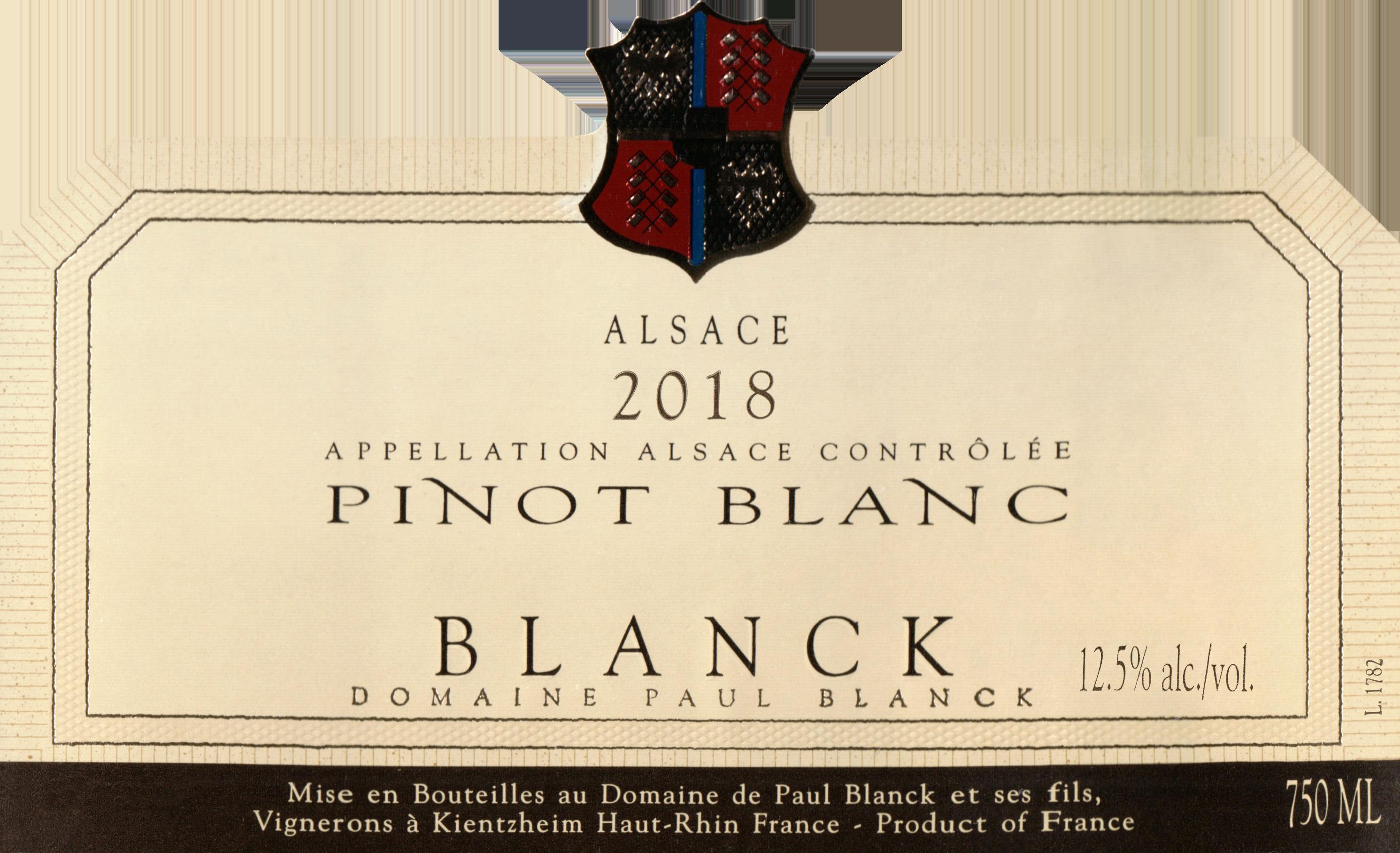 Paul Blanck Pinot Blanc D