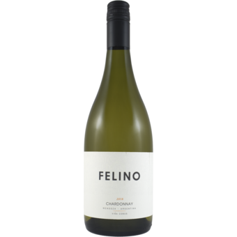 Bottle shot for 2018 Vina Cobos By Paul Hobbs Felino Chardonnay