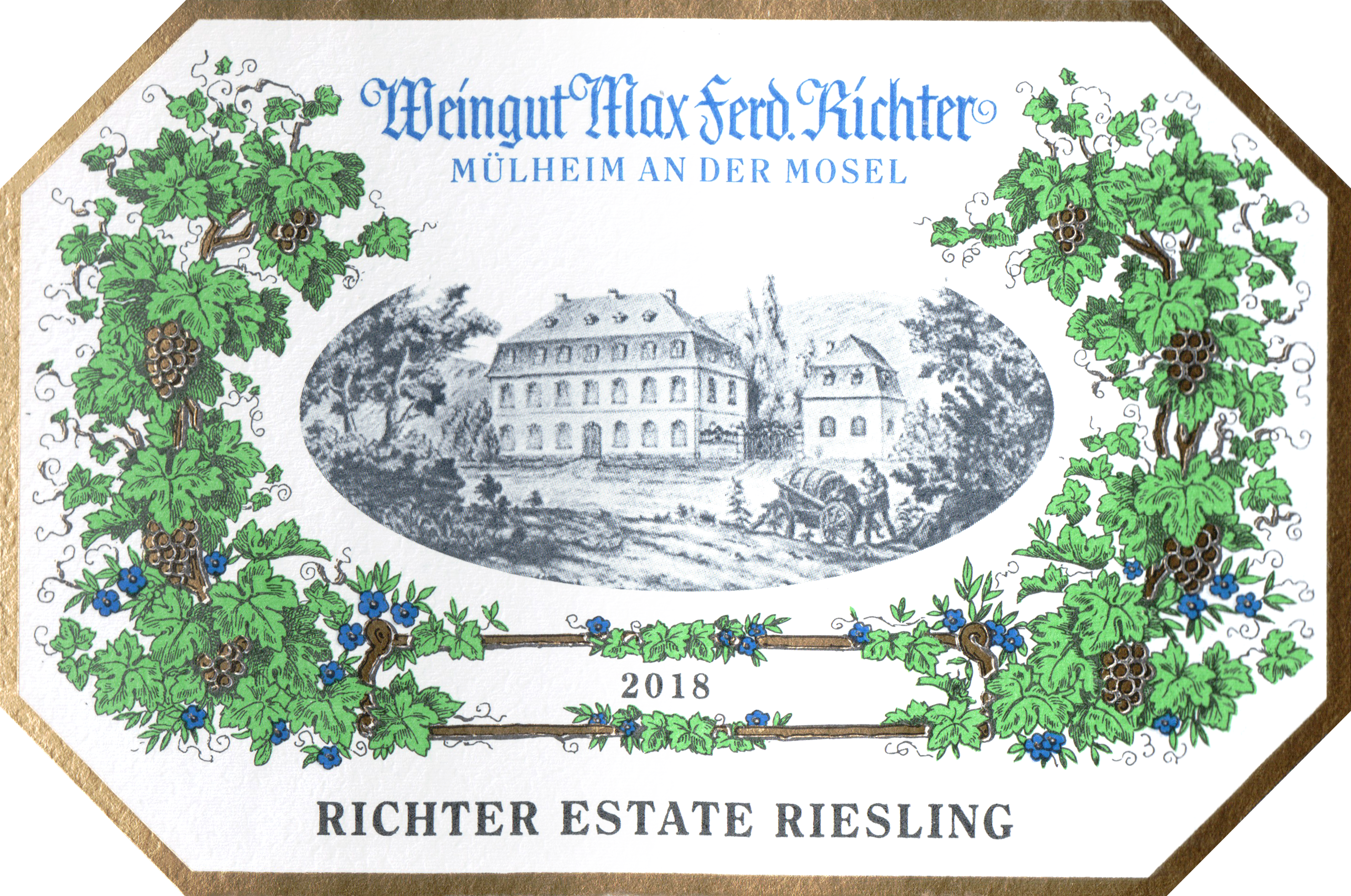 Weingut Max Ferdinand Richter Riesling Estate Qba 2018